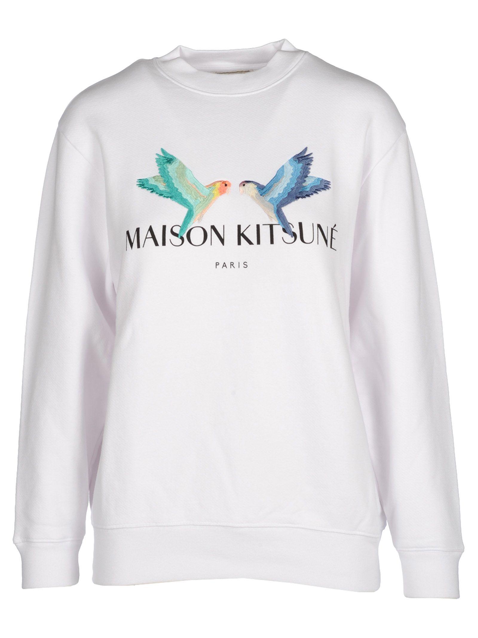 Kitsuné MAISON KITSUNÉ LOGO PRINT SWEATSHIRT