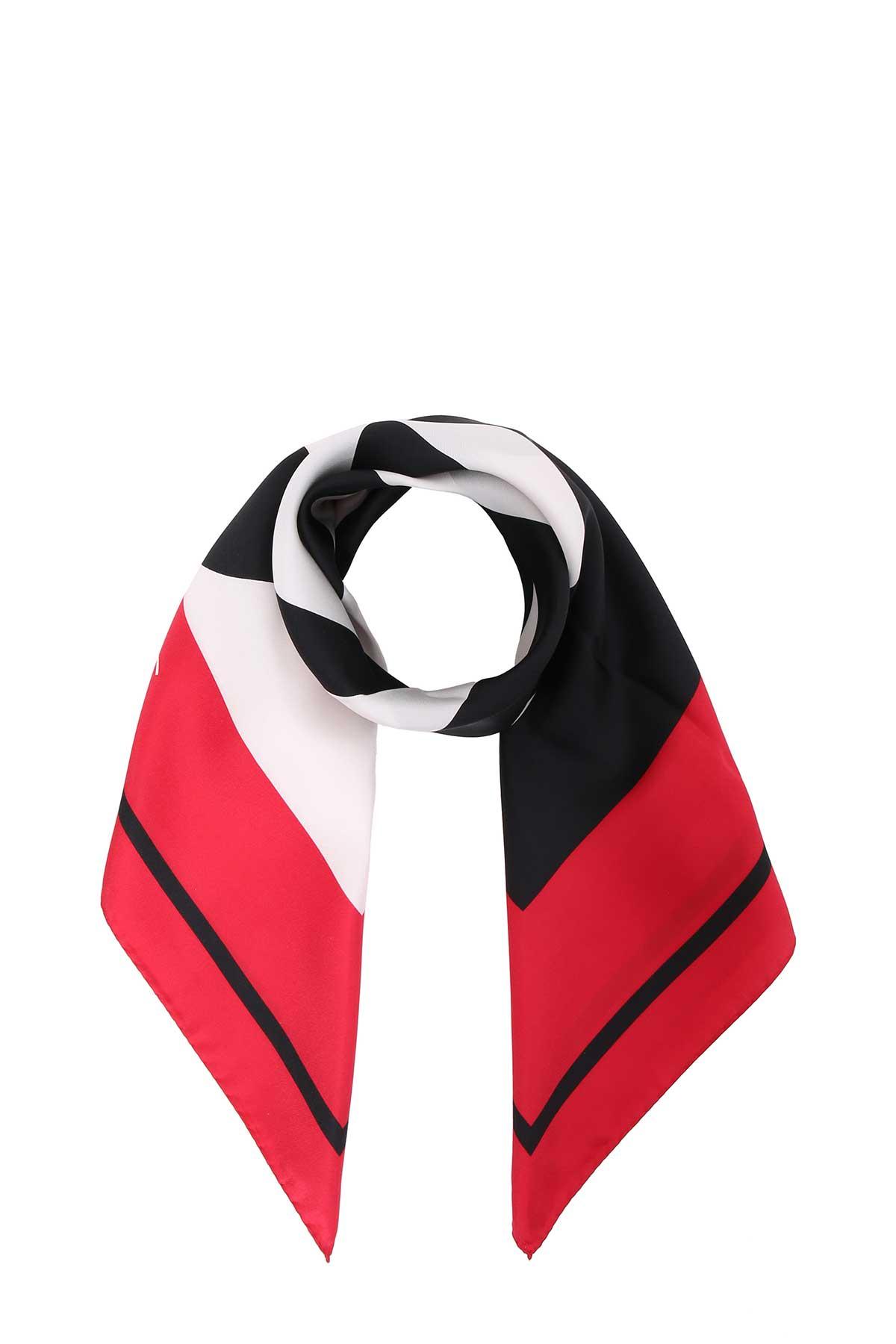 balenciaga -  Multicolor Silk Twill Foulard