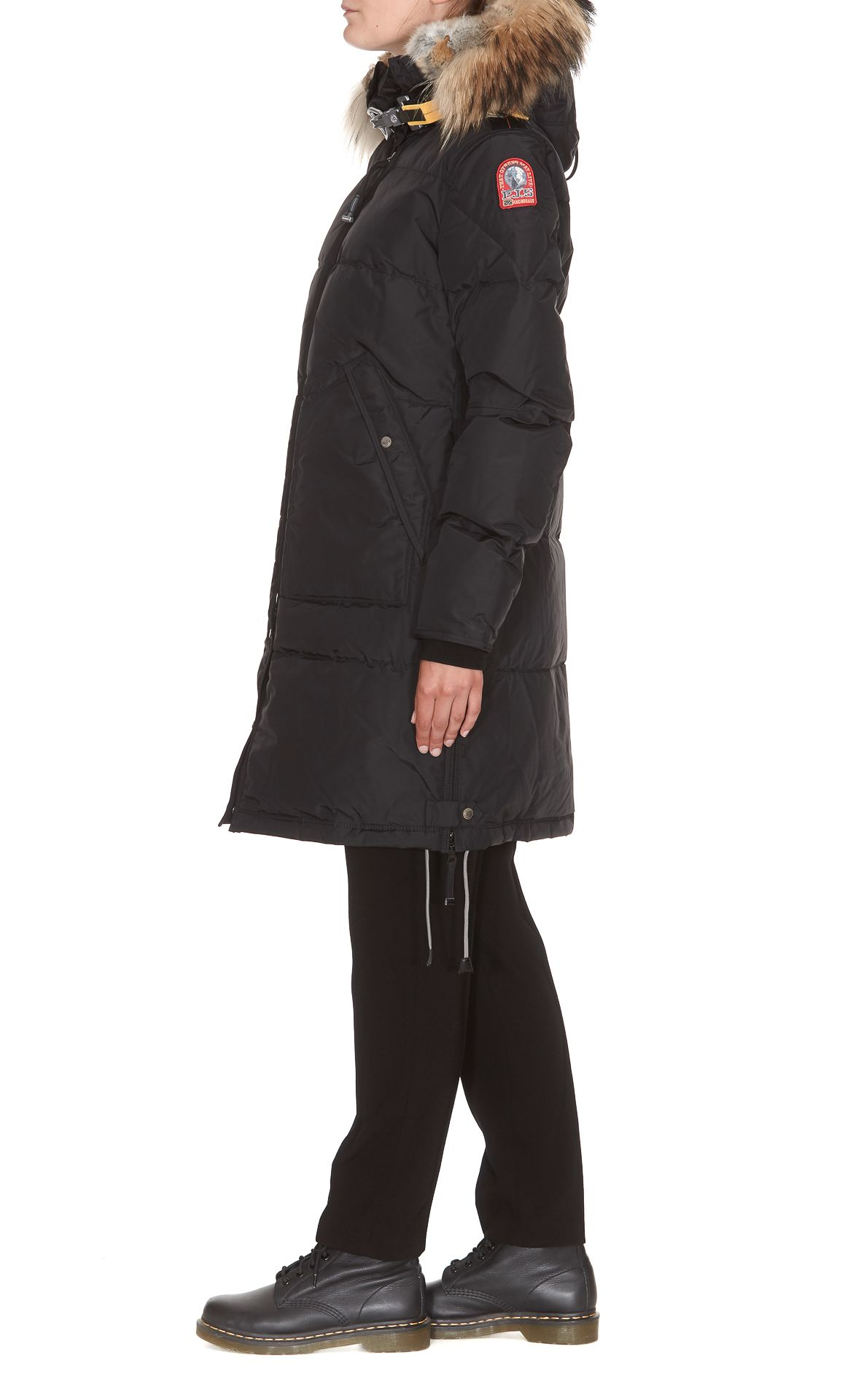 ... Parajumpers Long Bear Heavy Jacket - Black ...