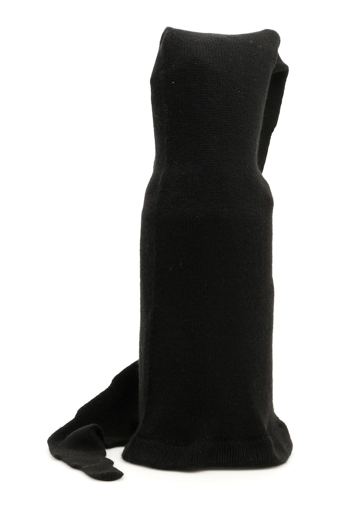 FLAPPER Extra Long Atena Hat in Black