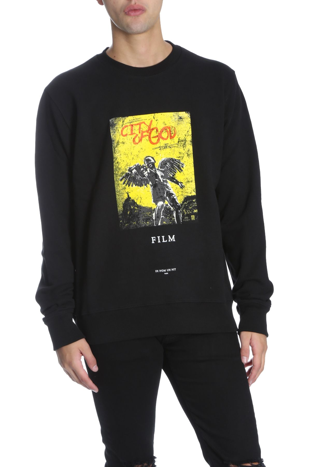 IH NOM UH NIT Fleece in Black