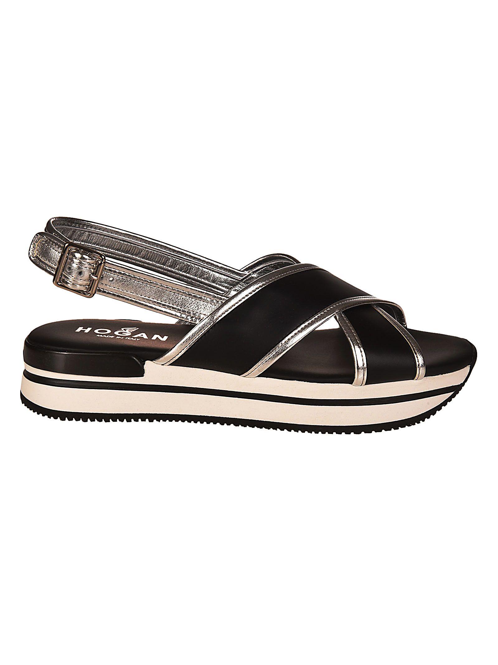 platform slingback sandals - Black Hogan Discount Huge Surprise Authentic Outlet Latest Collections PBkoH