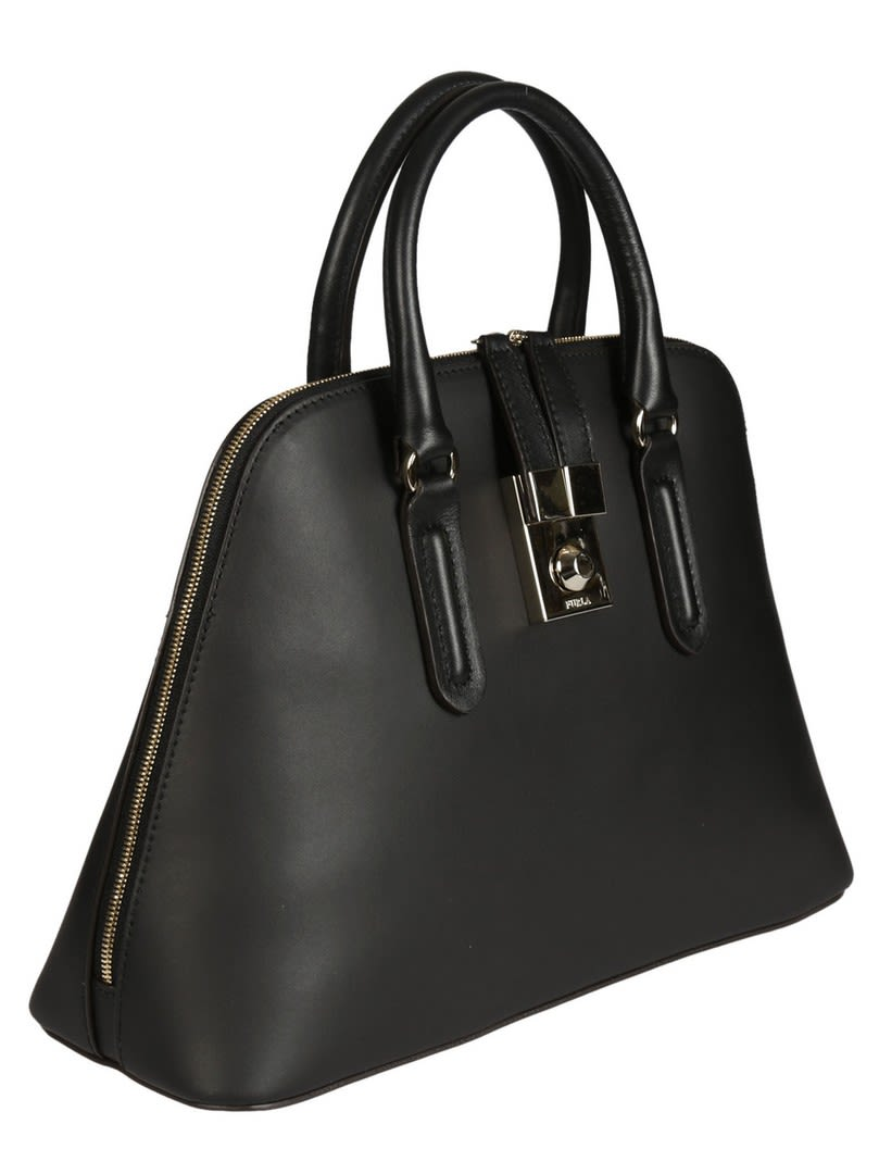 Furla Black Milano shoulder bag zIlcC8EO