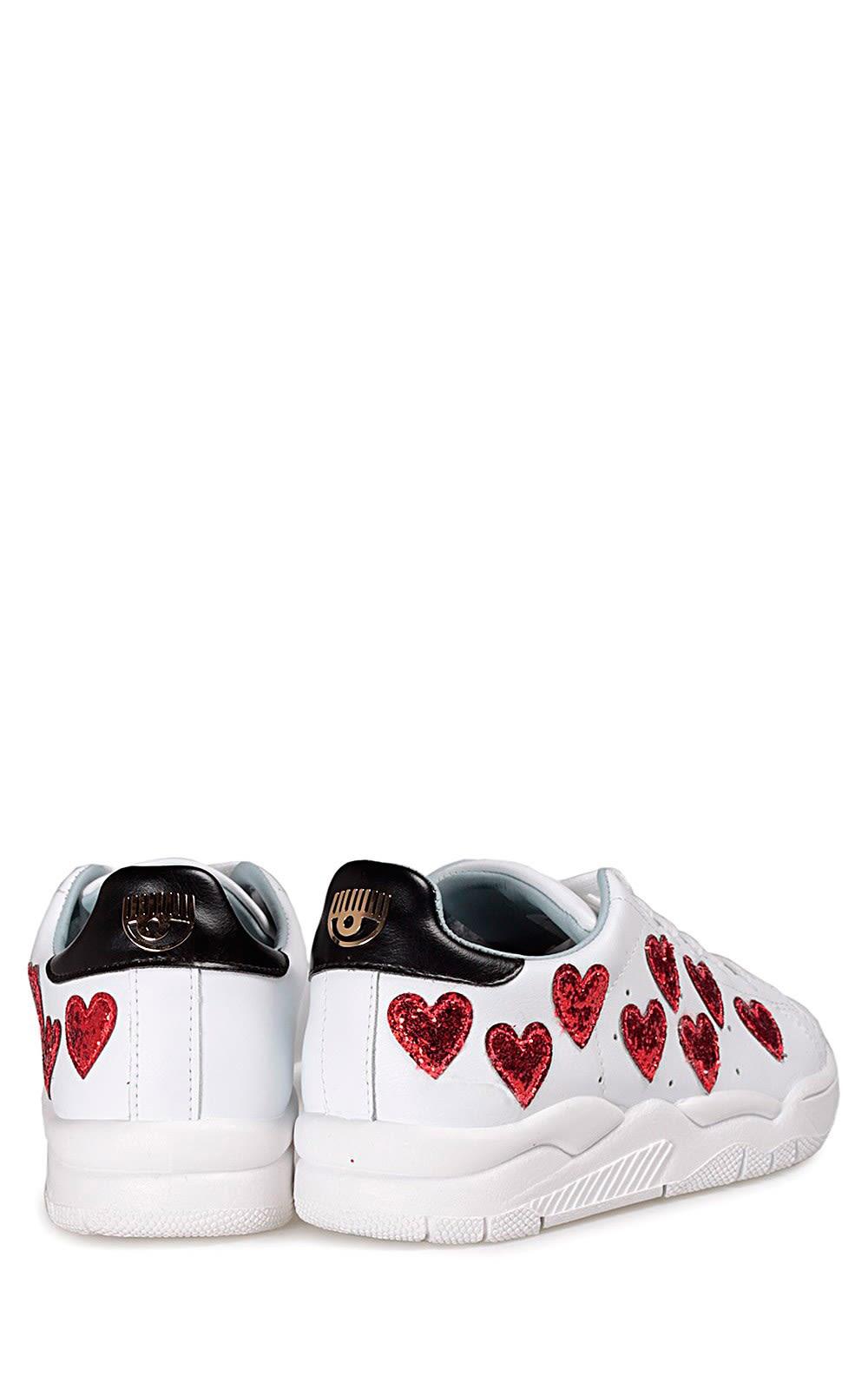 Roger Heart leather sneakers Chiara Ferragni pxtWT