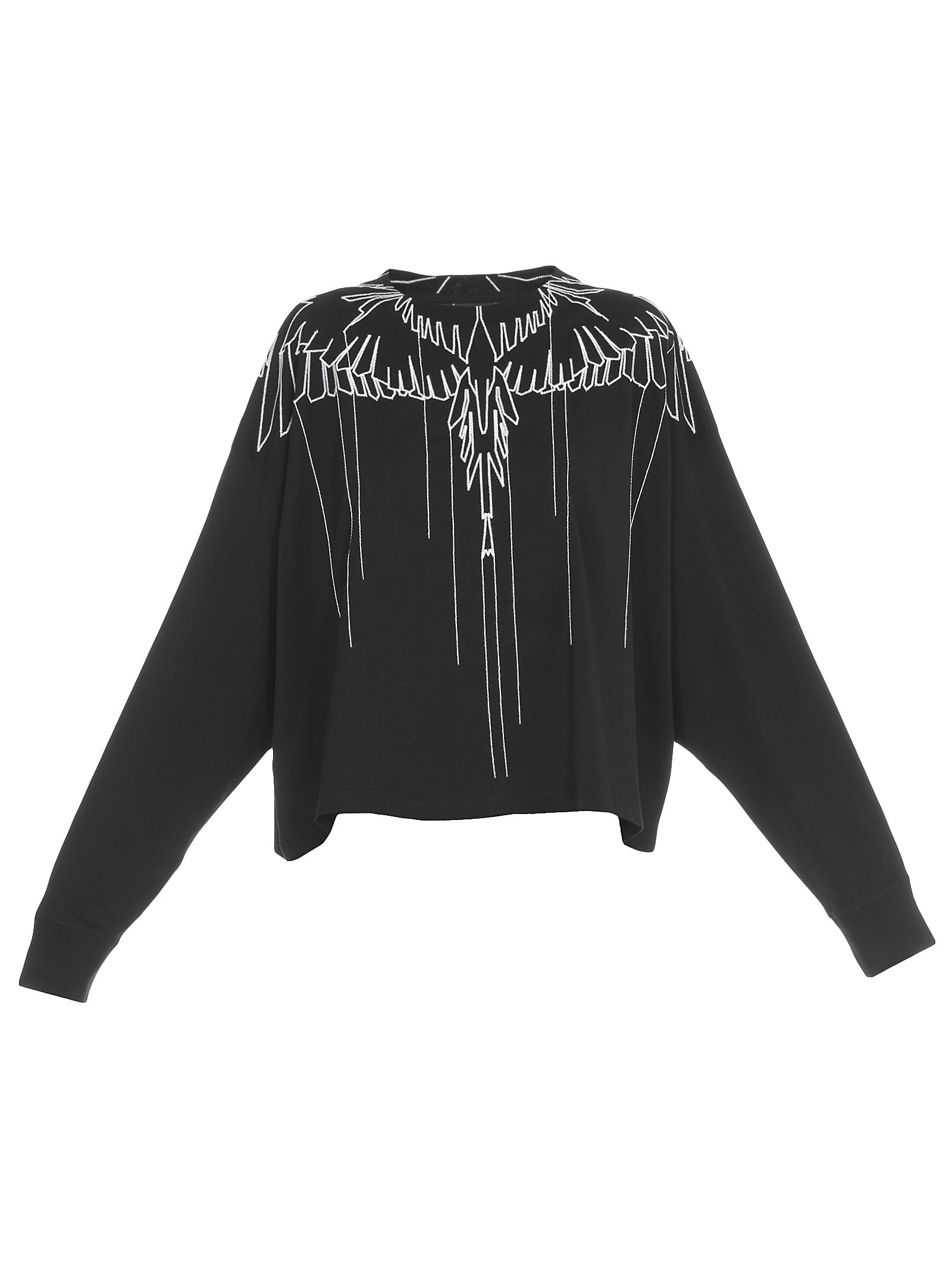 Marcelo Burlon County Of Milan STITCHING WINGS SWEATSHIRT