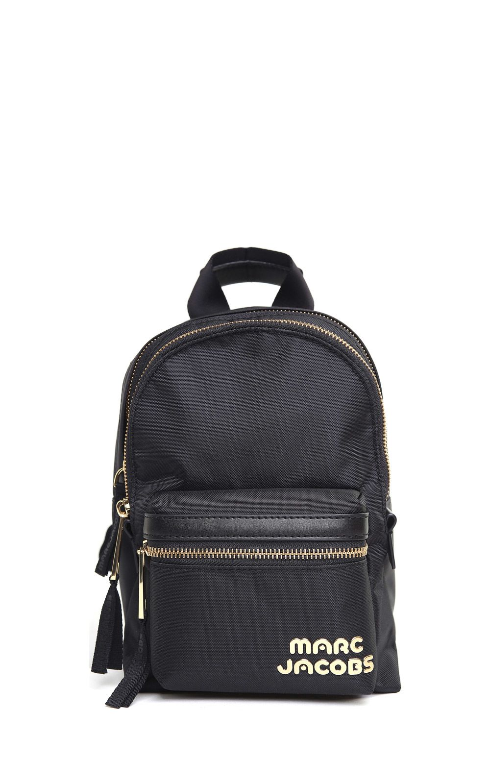 Track Pack Mini leather-trimmed nylon backpack Marc Jacobs Q5bzzIadR