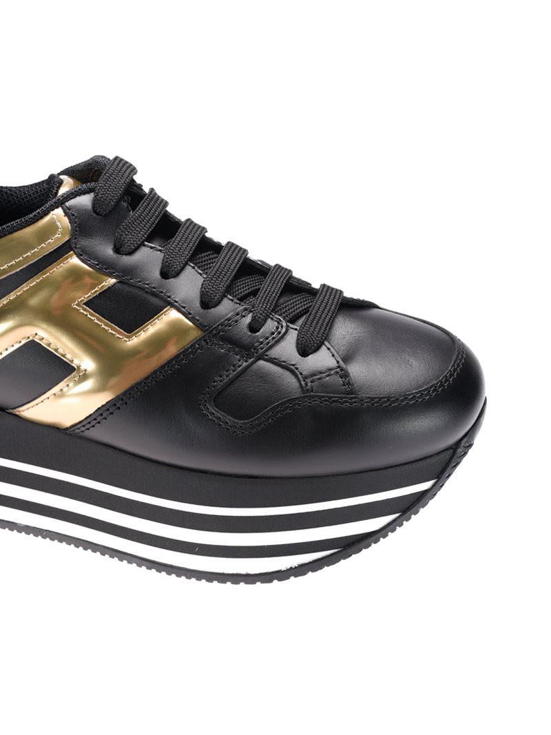 hogan maxi h222 gold
