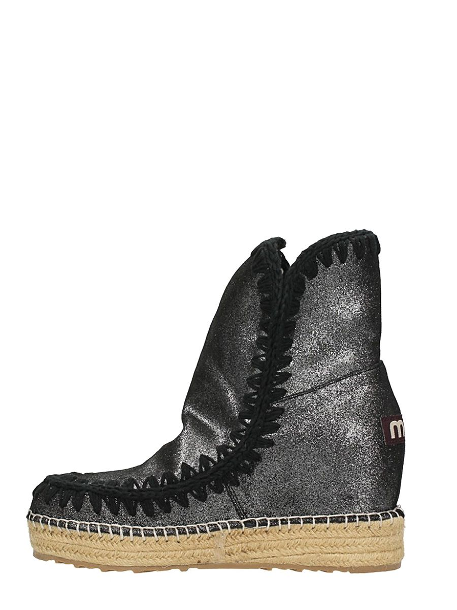 Huge Surprise For Sale Mou Eskimo Inner Ankle Boots In Glitter Suede Hot Sale Online Cheap Supply Cheap Sale Classic Cheap Eastbay z4rE5nJK0u