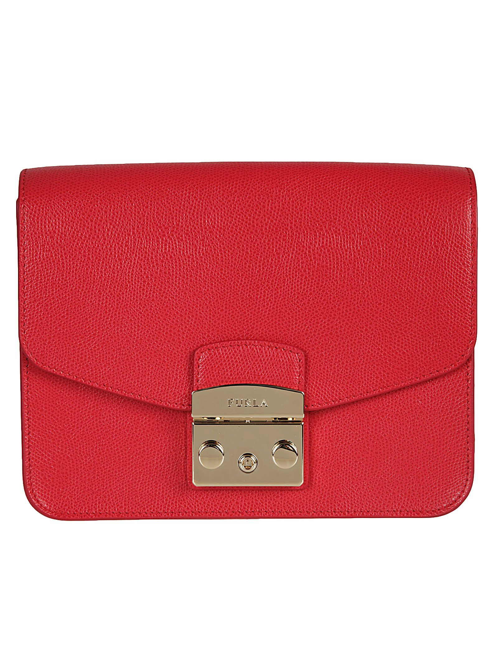 Furla Clutch Bag On Sale, Ruby, Leather, 2017, one size