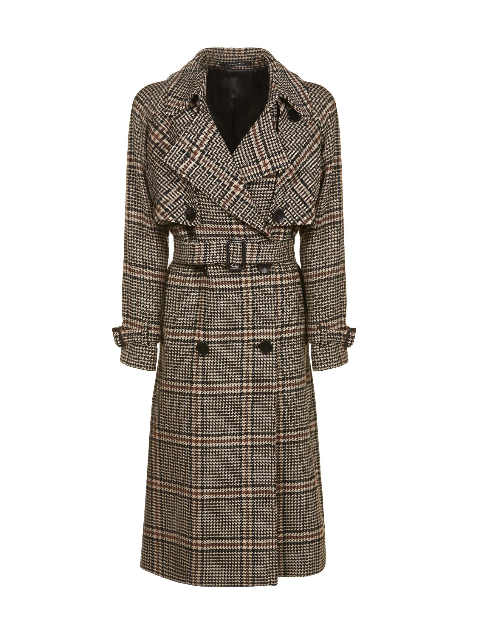 Tagliatore CHECKED TRENCH COAT