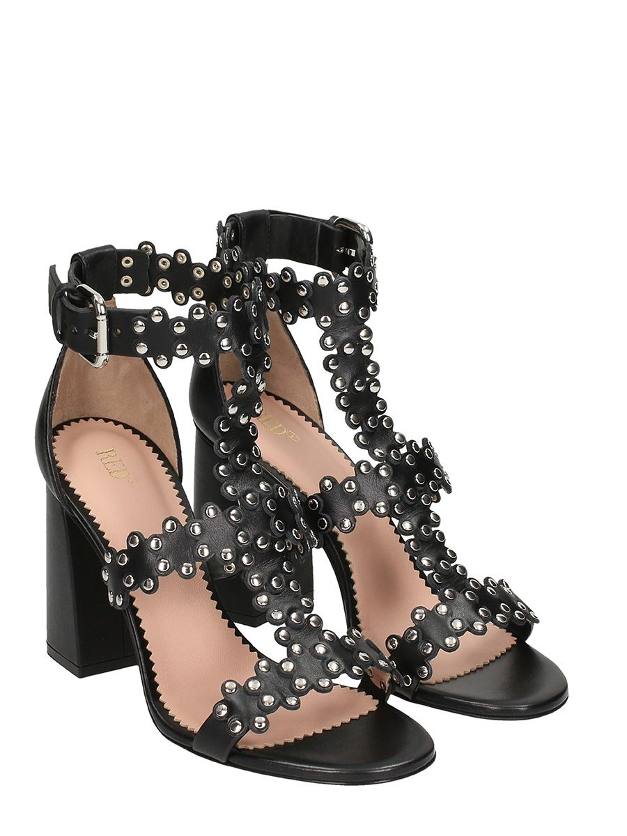 Red Valentino Flower Puzzle sandals discount official site 4xOMFSmD