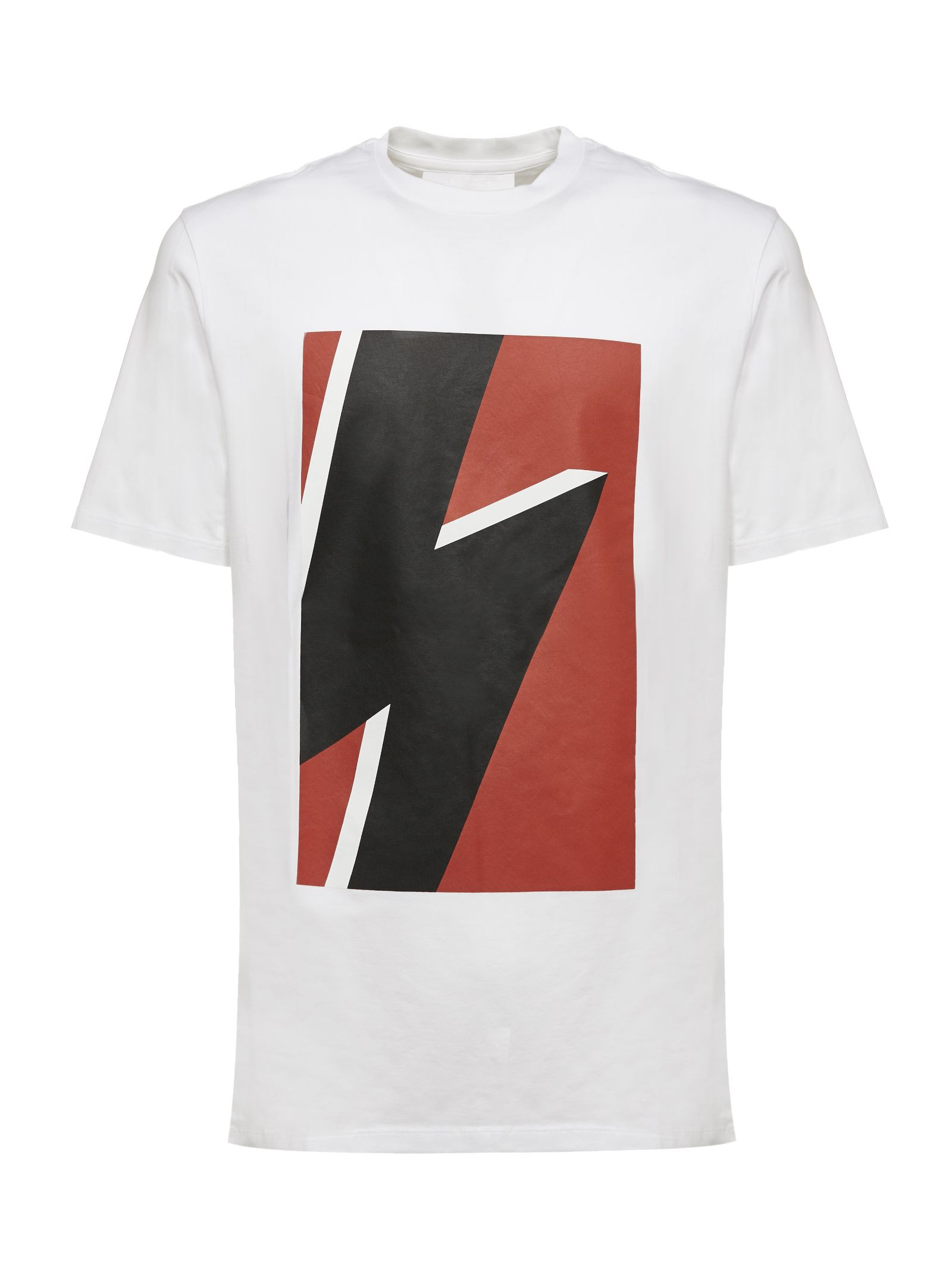 Neil Barrett Thunder Print T-shirt