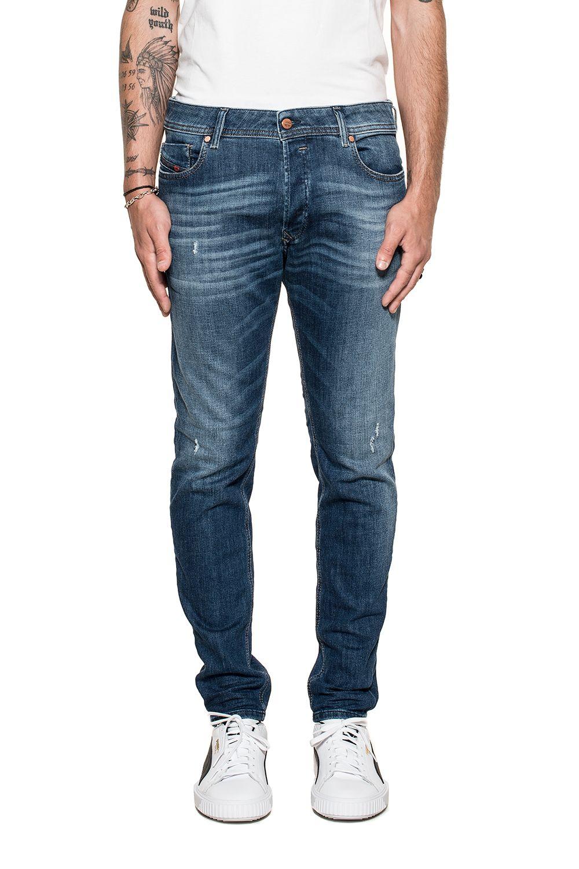 Dark Blue Sleenker Denim Jeans 10613360