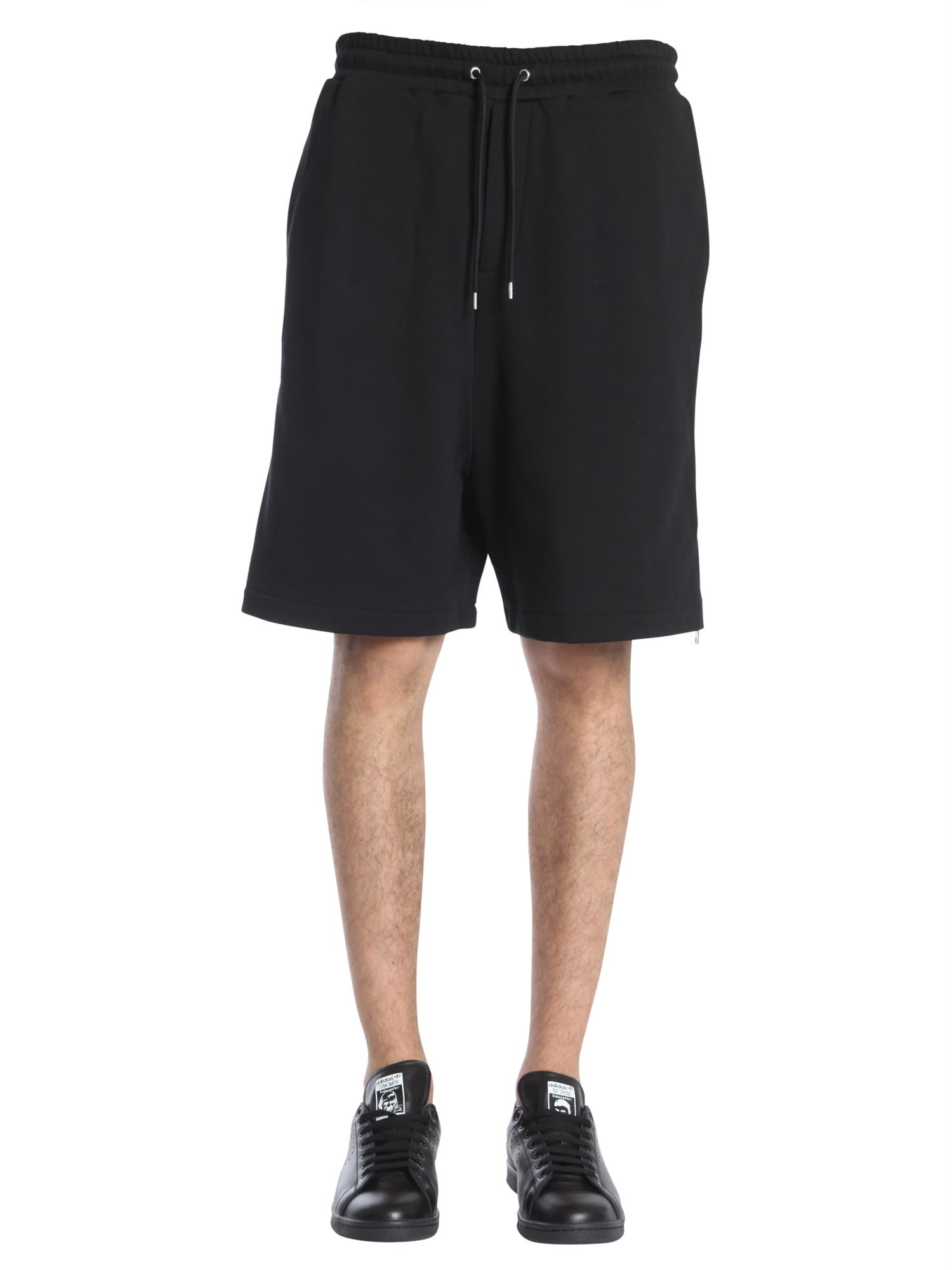 MCQ BY ALEXANDER MCQUEEN SHORTS WITH SIDE ZIPS