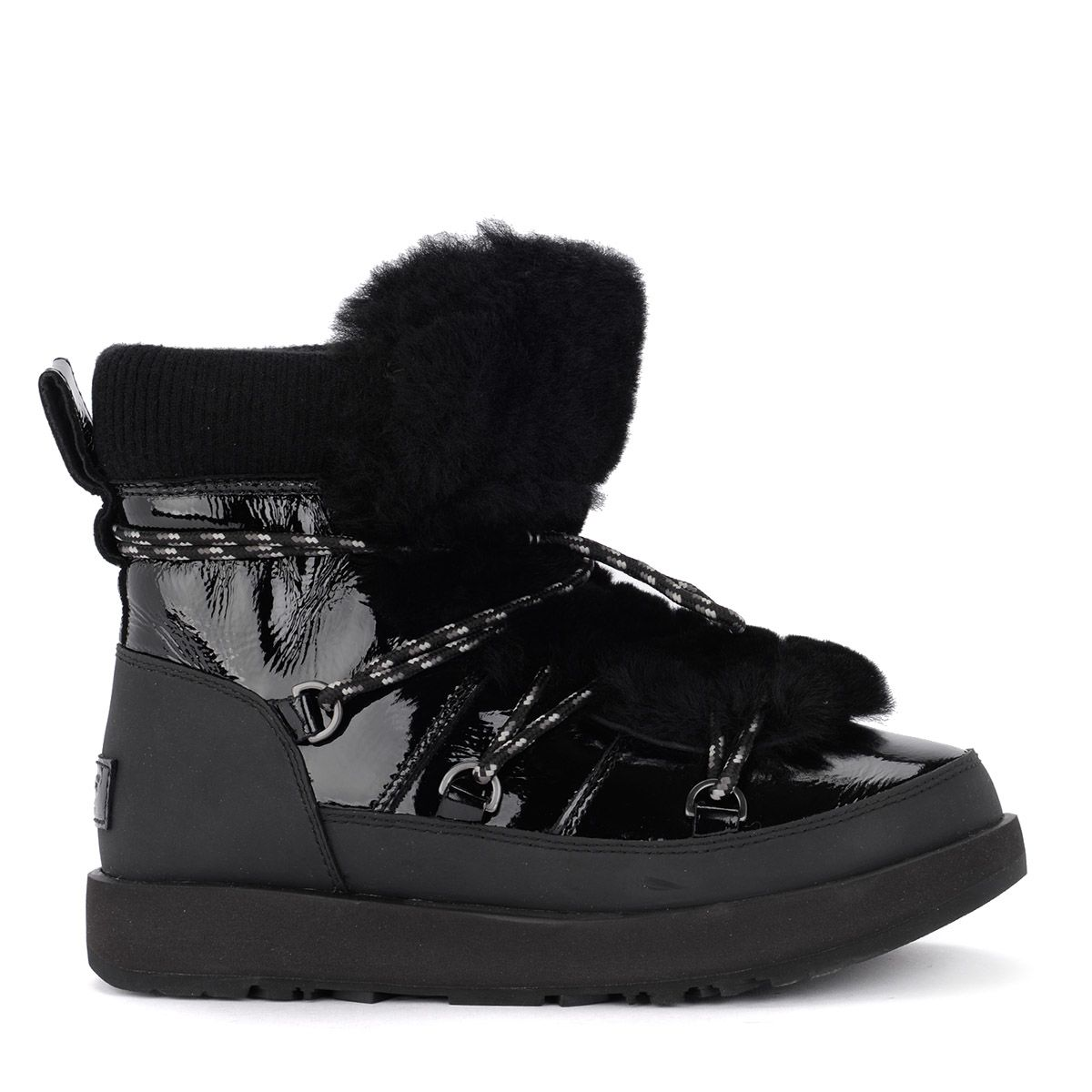 fd5cf7ad8a5 Ugg Black Patent Leather Highland Waterproof Low Boot | ModeSens