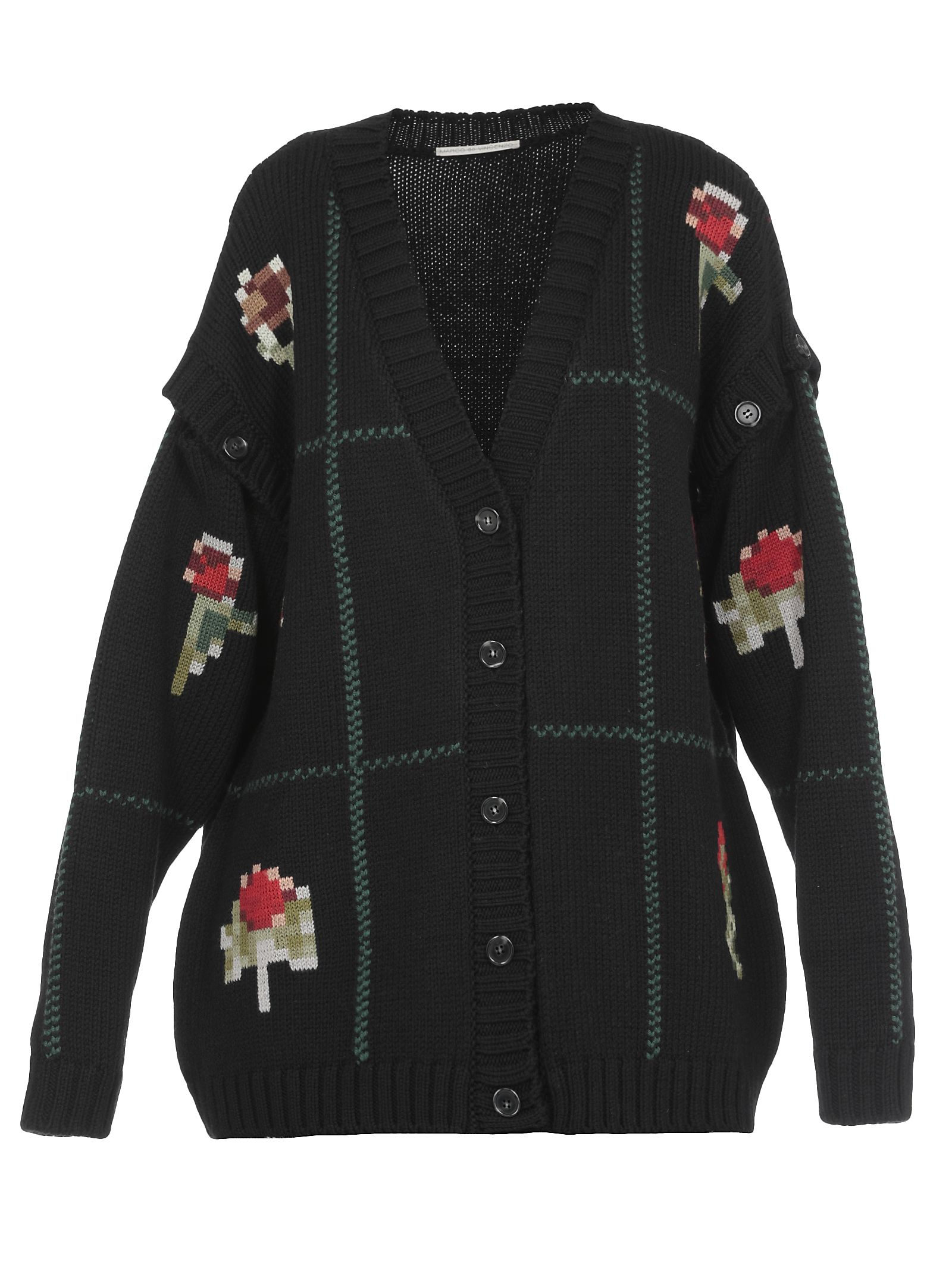Marco De Vincenzo KNITTED CARDIGAN
