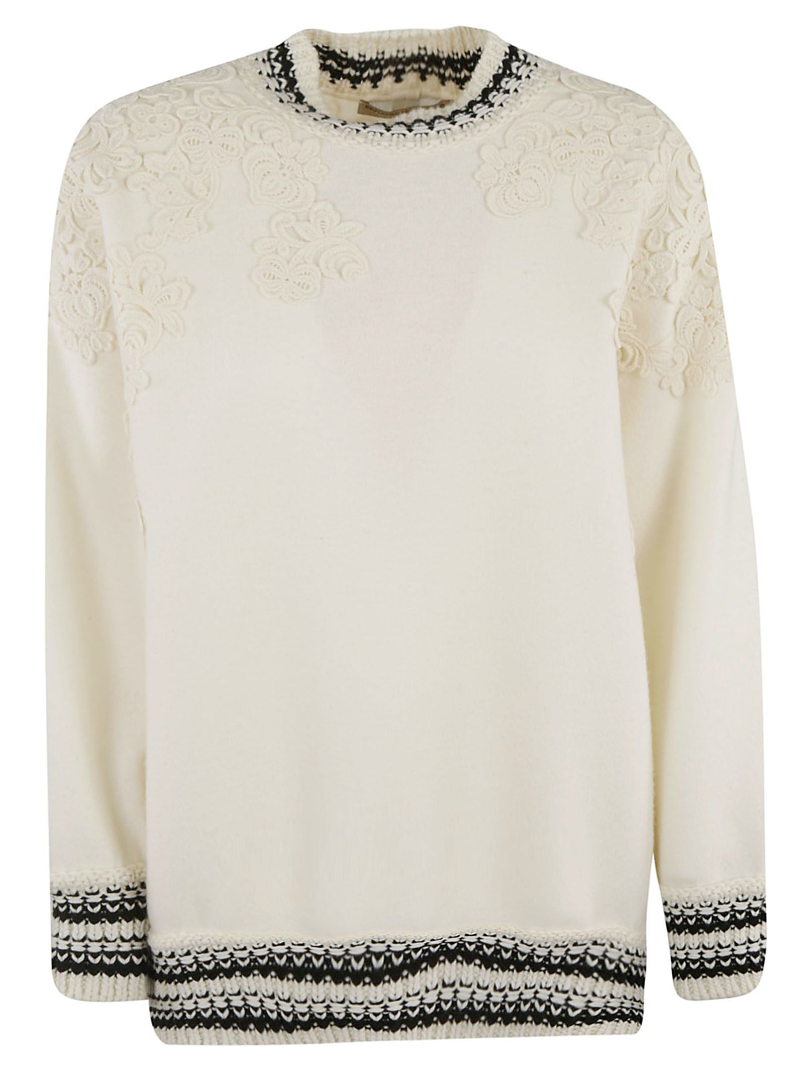 Ermanno Scervino LACE DETAILED TOP