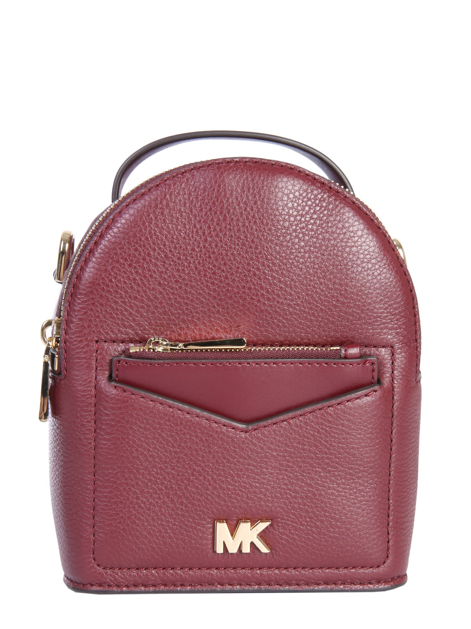 0b0b0612247d Michael Michael Kors Mini Jessa Backpack In Bordeaux | ModeSens