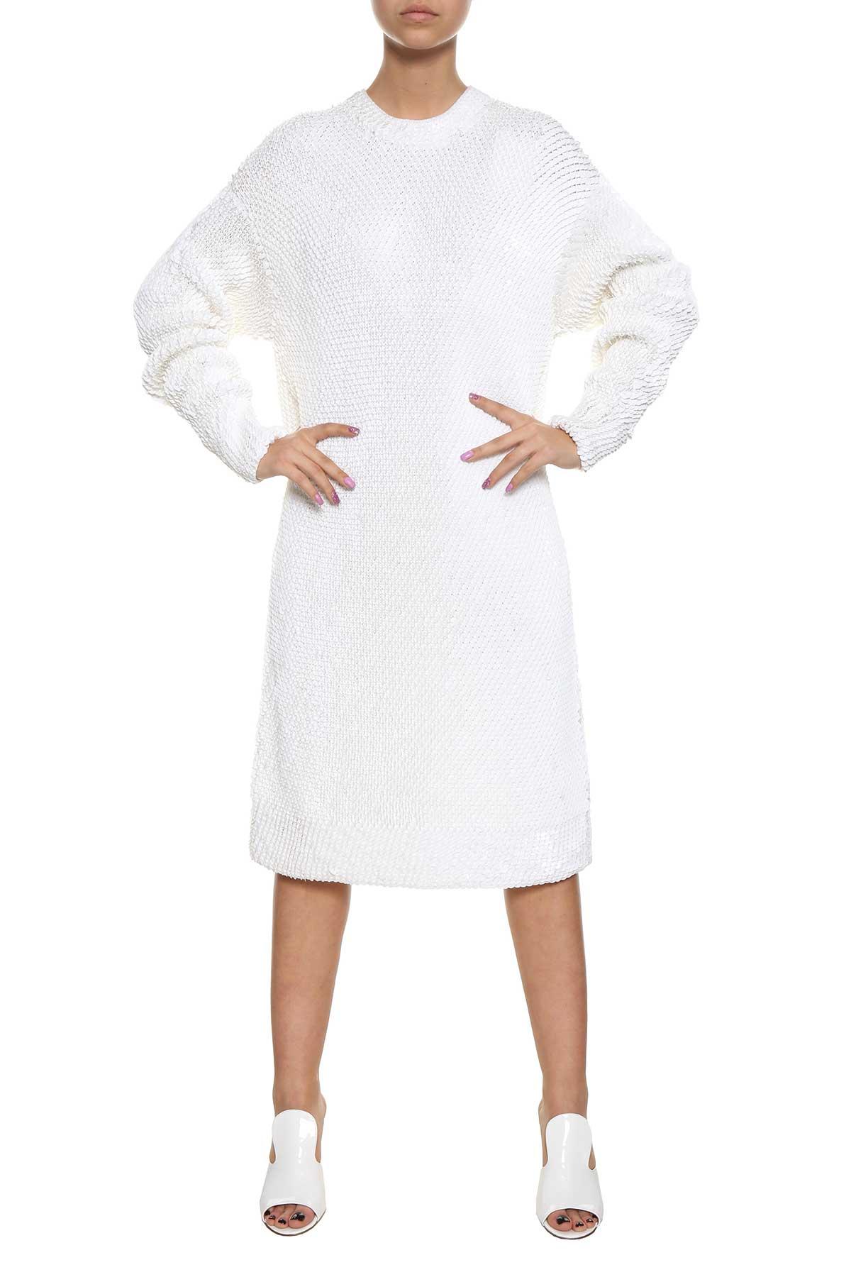 Allover sequins knit dress Krizia NhTdI6g