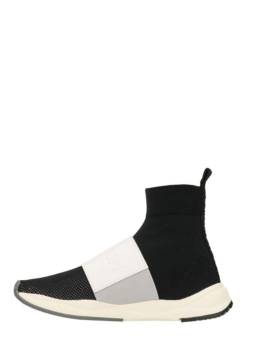 logo sock sneakers - Black Balmain aAXYctfnW