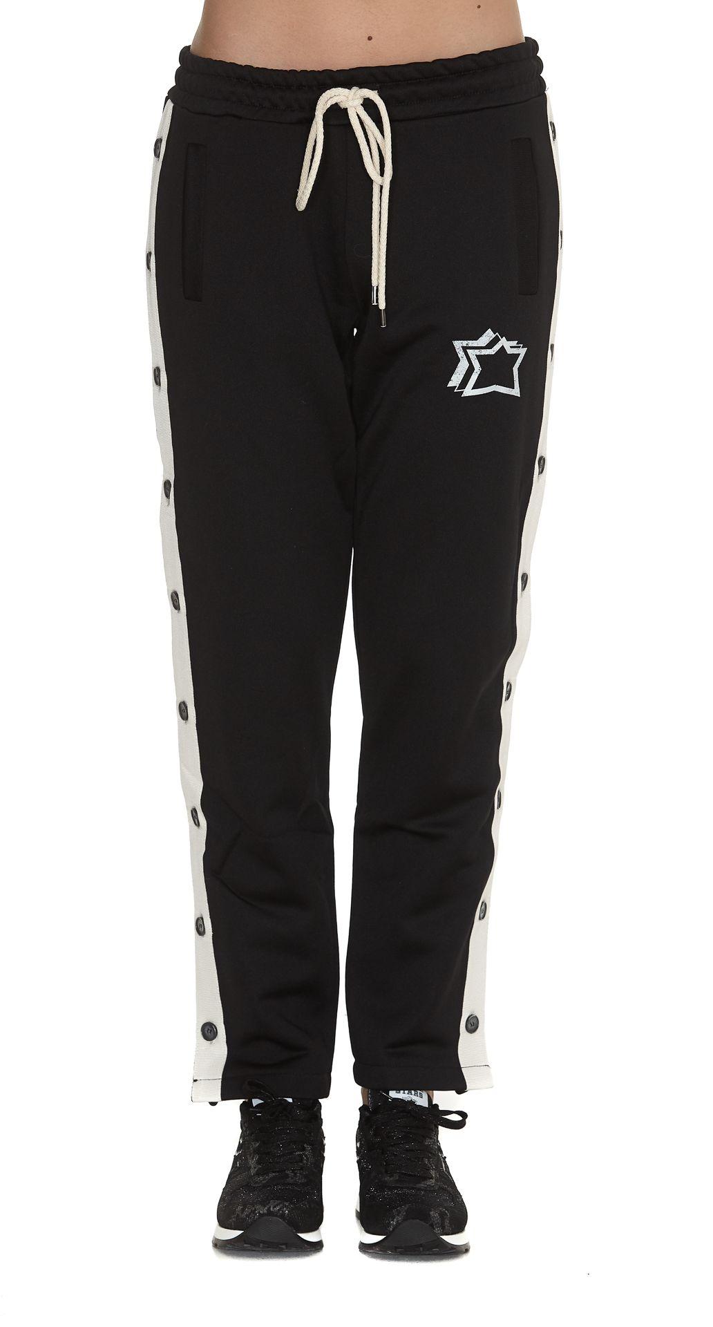 ATLANTIC STARS Casual Pants in Black