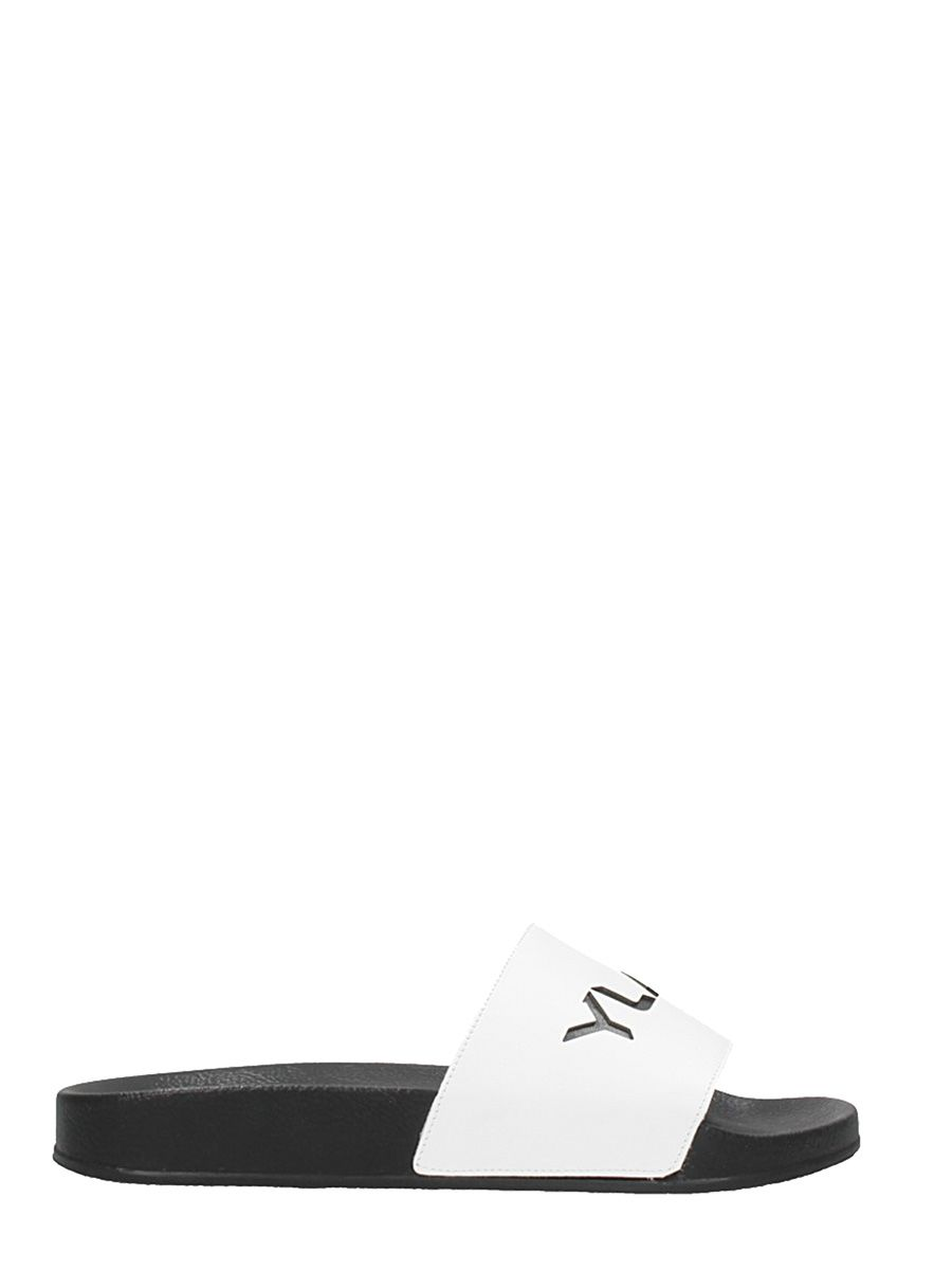 Ylati Chaussures Flats En Caoutchouc Noir Sandales qmbHvbN
