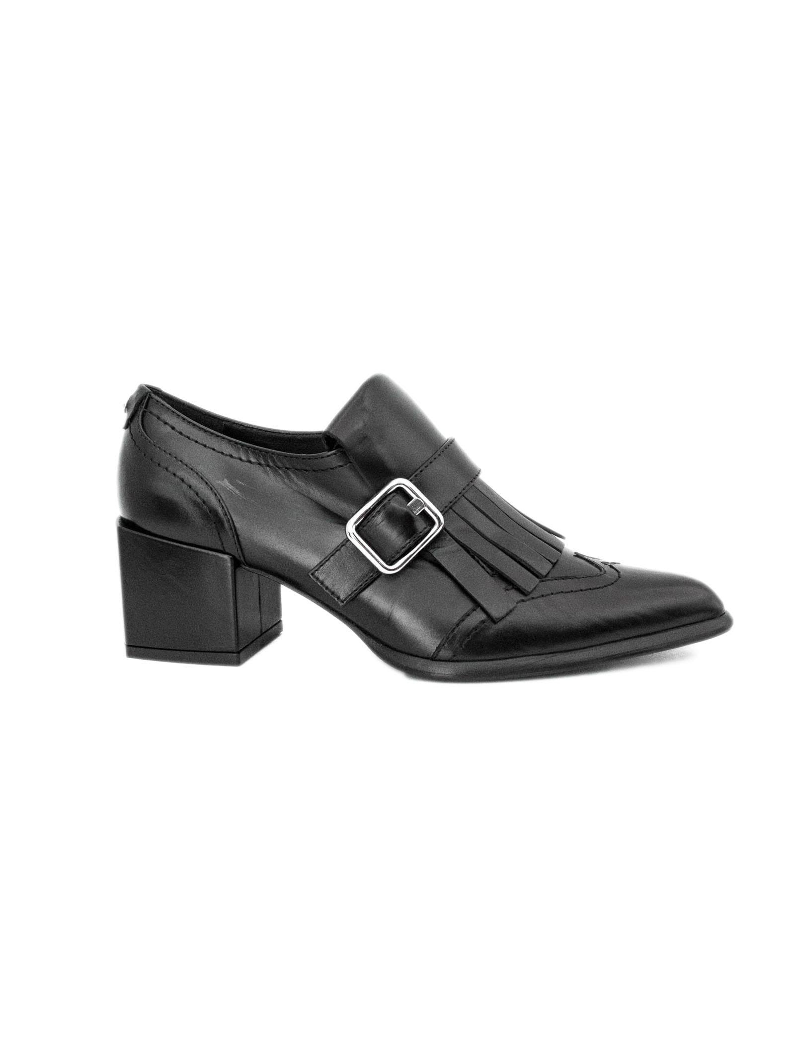 ROBERTO FESTA Daria Shoes In Black Leather. in Nero