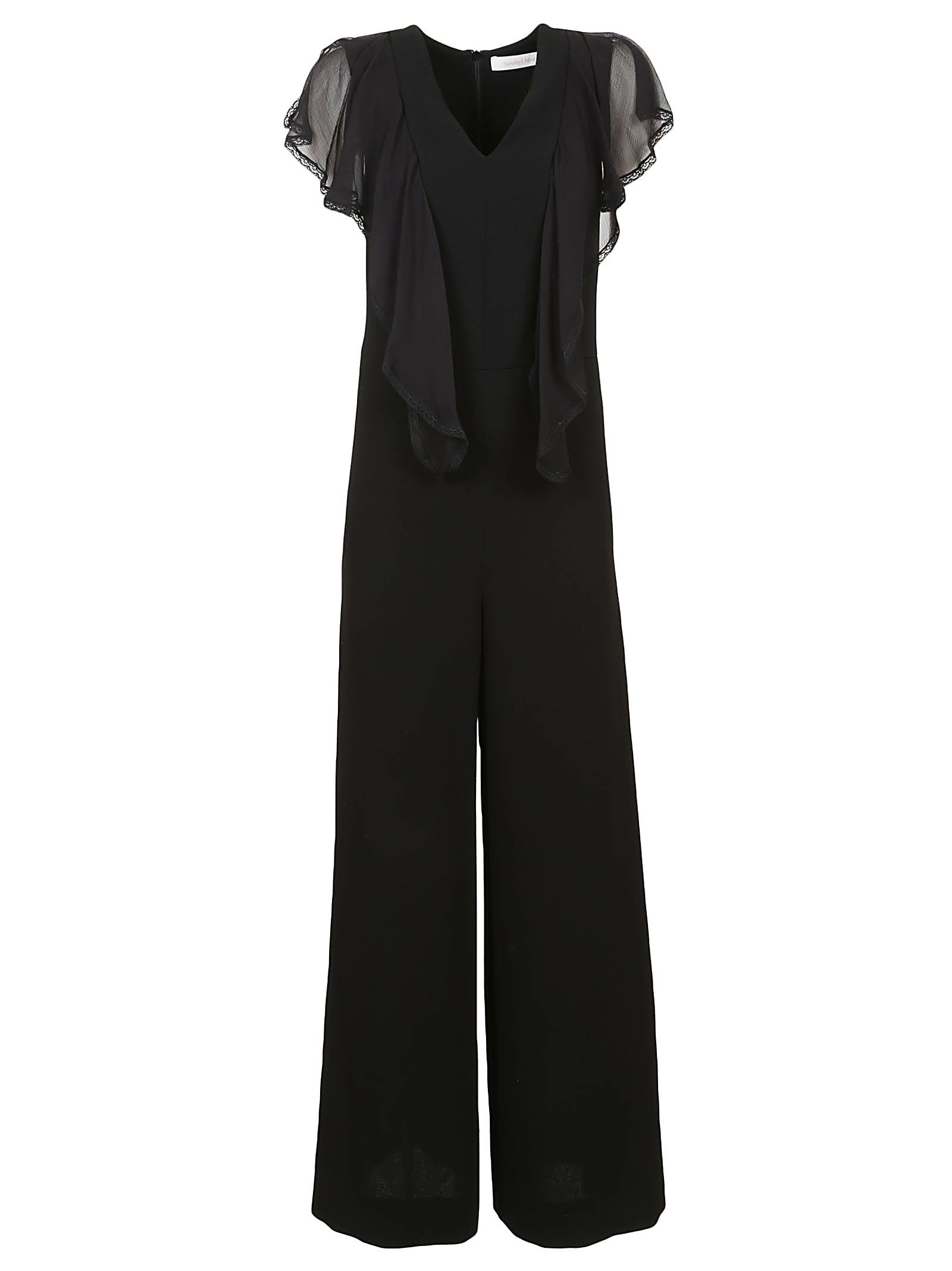 SEE BY CHLOÉ EVENING JUMPSUIT