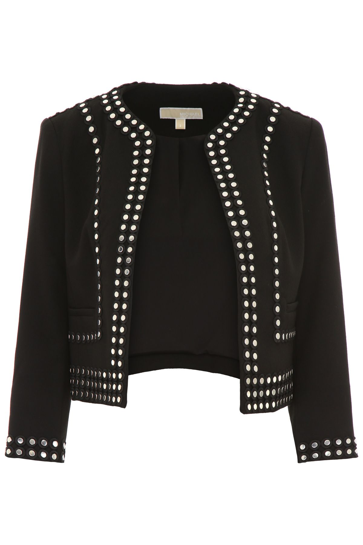 SHORT JACKET WITH STUDS
