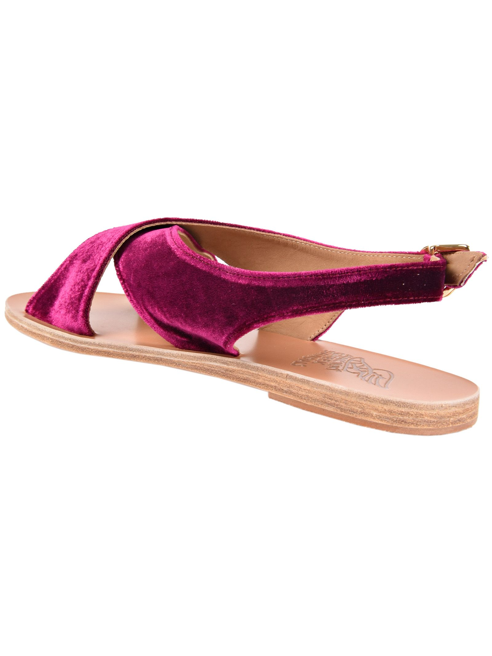 Maria sandals - Pink & Purple Ancient Greek Sandals F2VVOfWwn