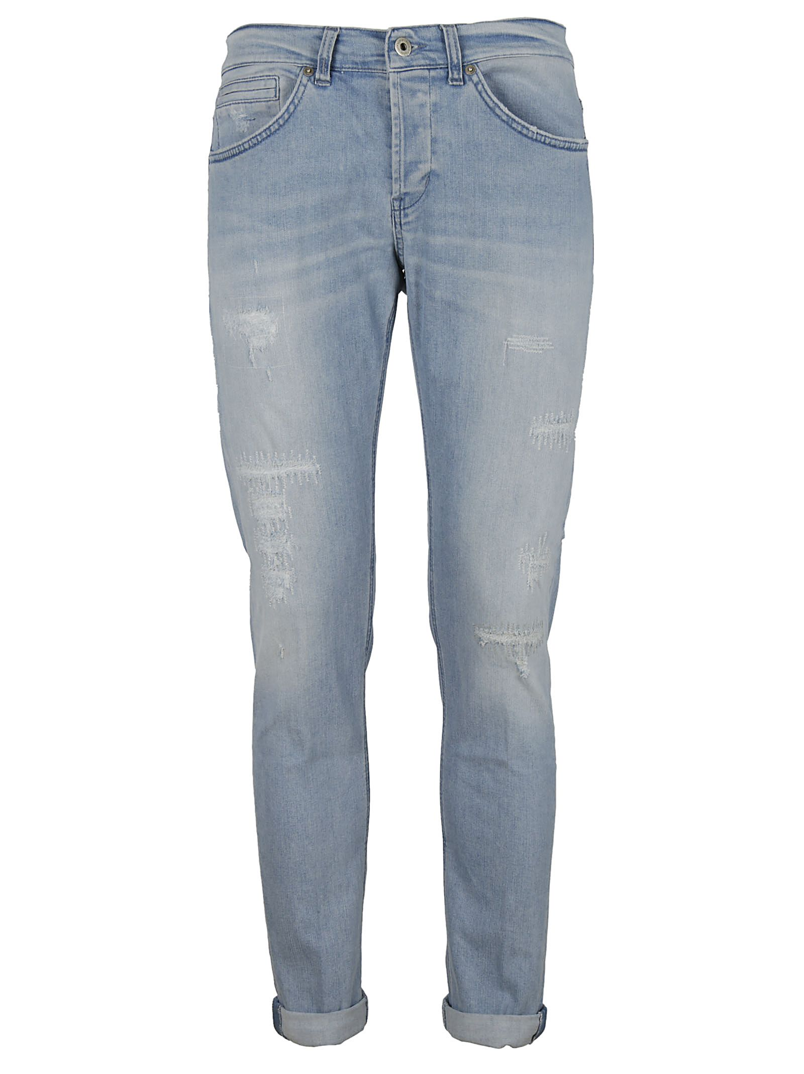Jeans On Sale, Denim Blue, Cotton, 2017, 35 36 Dondup