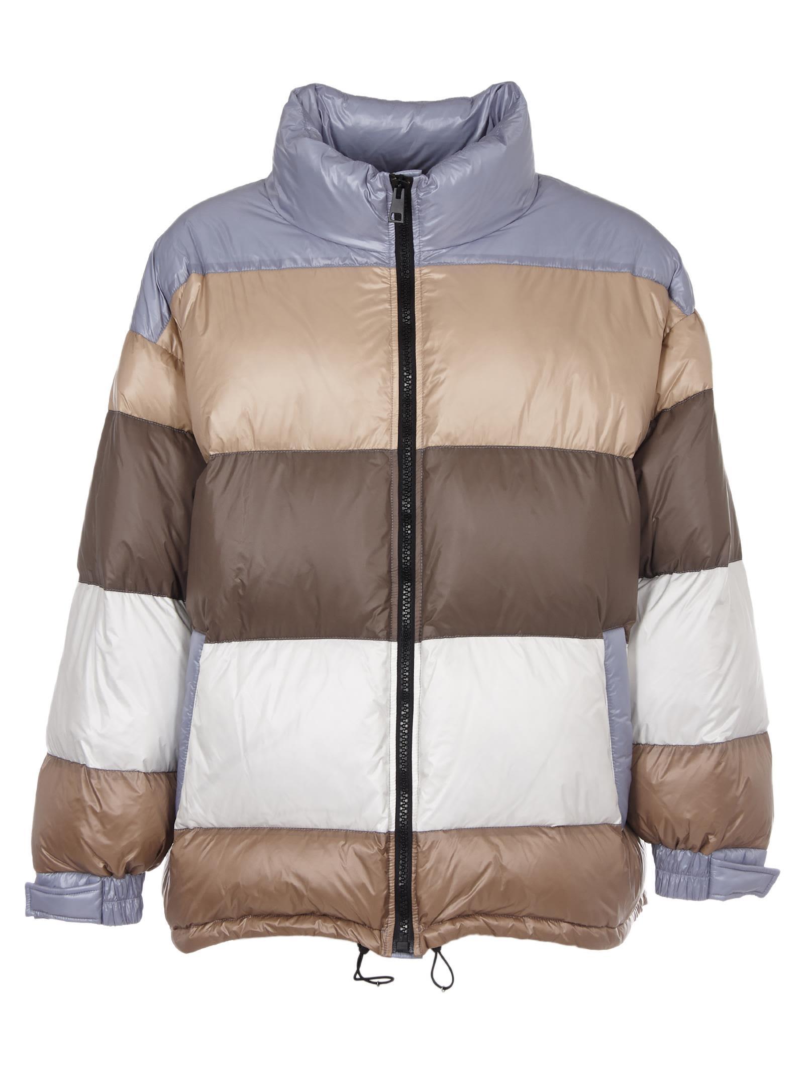 DANILO PAURA Mosca Padded Jacket in Multicolor