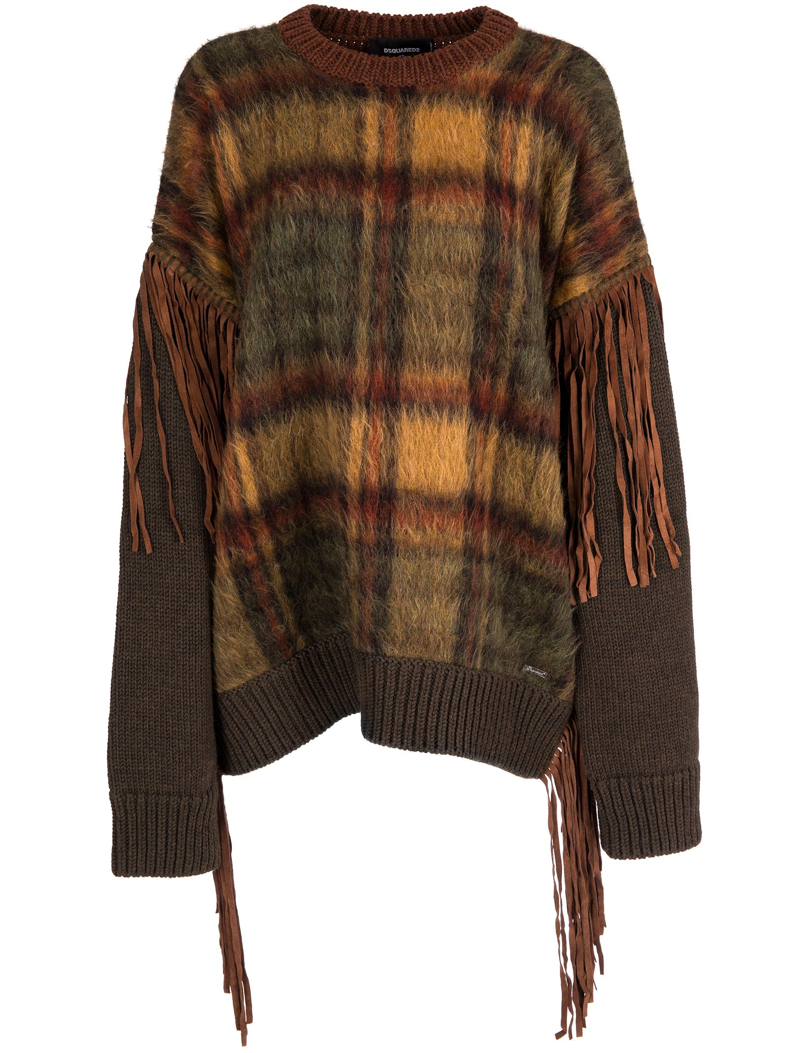 Dsquared Fringes Pullover