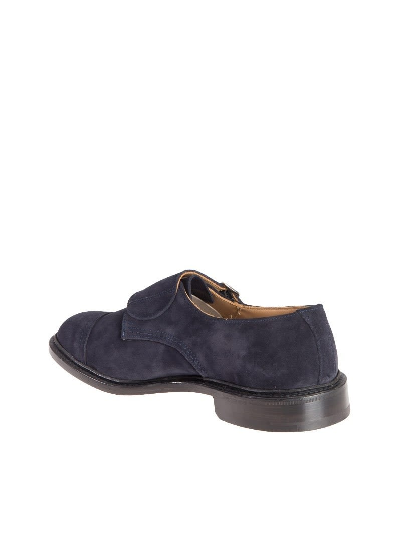 Tricker's Men's Blue Suede Monk... cheap sale wide range of collections cheap price cheap sale cost cheap sale pictures outlet with credit card QPpQ8n