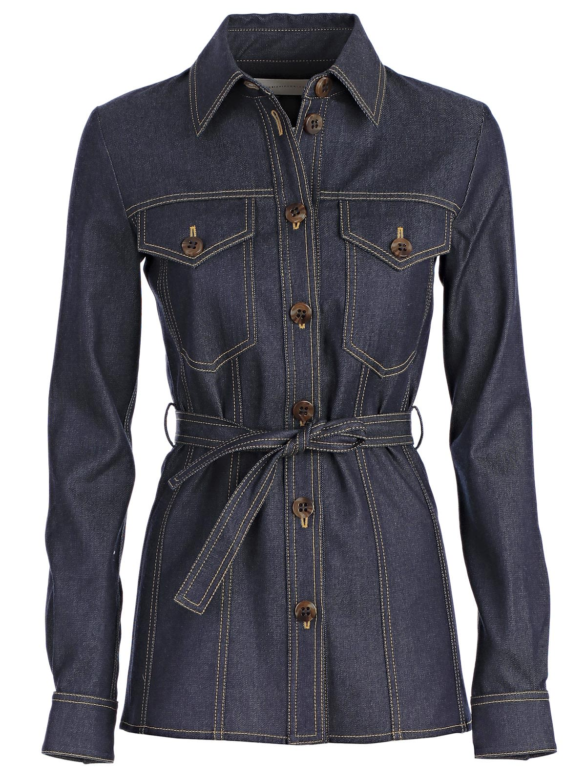 VICTORIA VICTORIA BECKHAM VICTORIA, VICTORIA BECKHAM BUTTON-UP JACKET