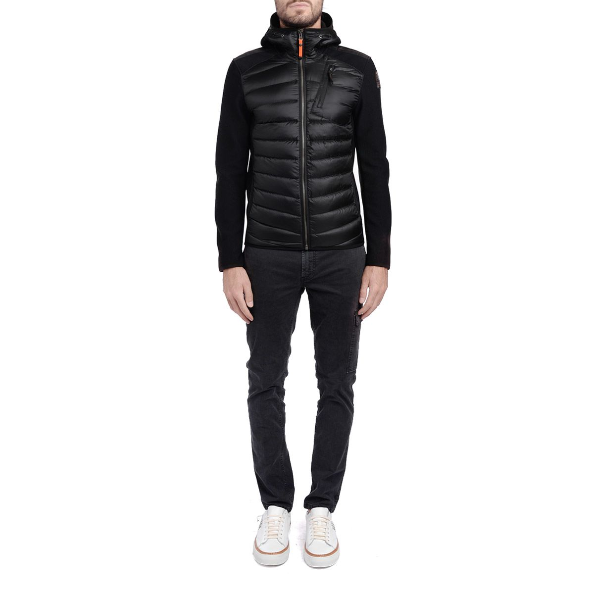 parajumpers nolan hooded jacket black