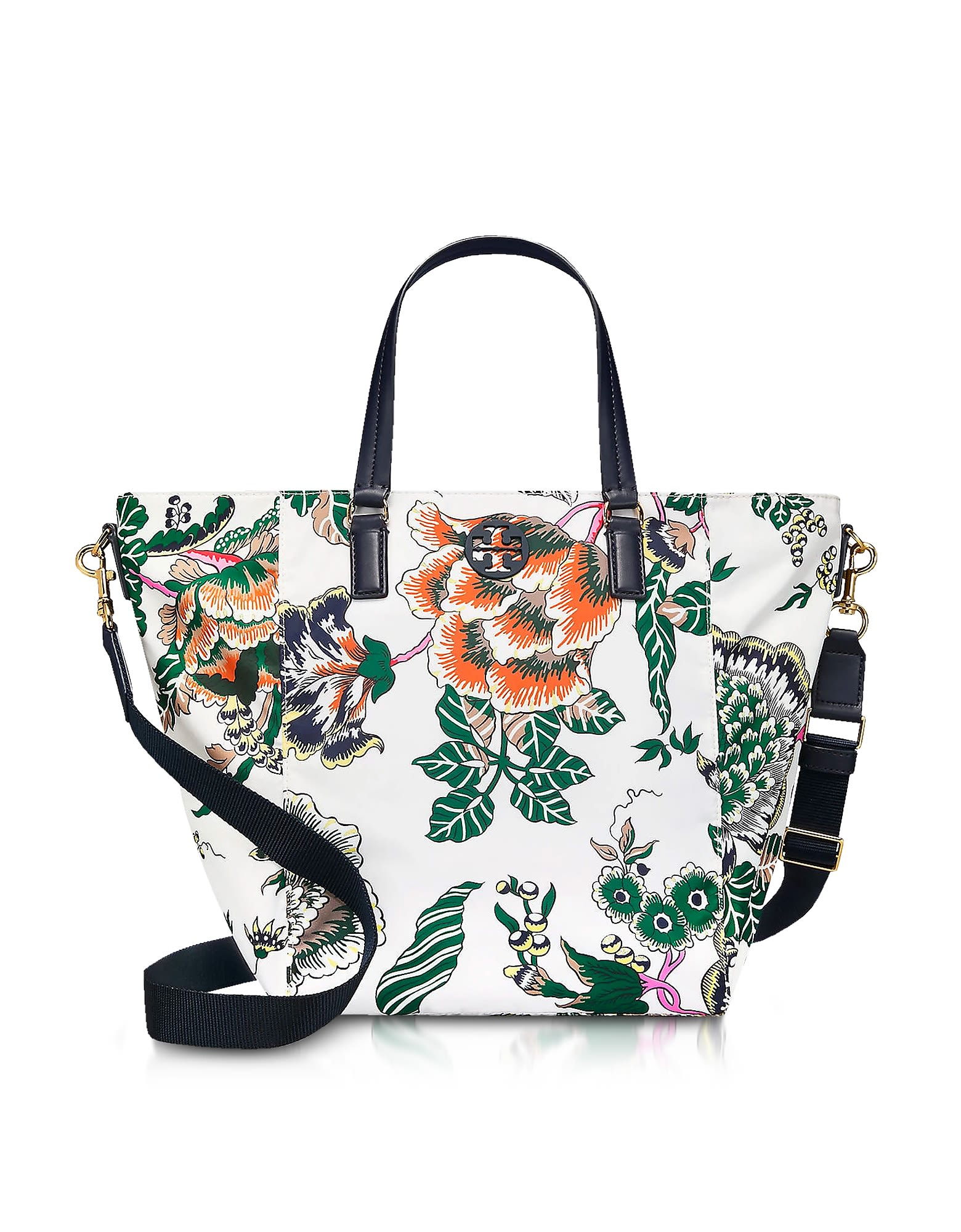 Tilda Ivory Happy Times Printed Nylon Small Tote Bag