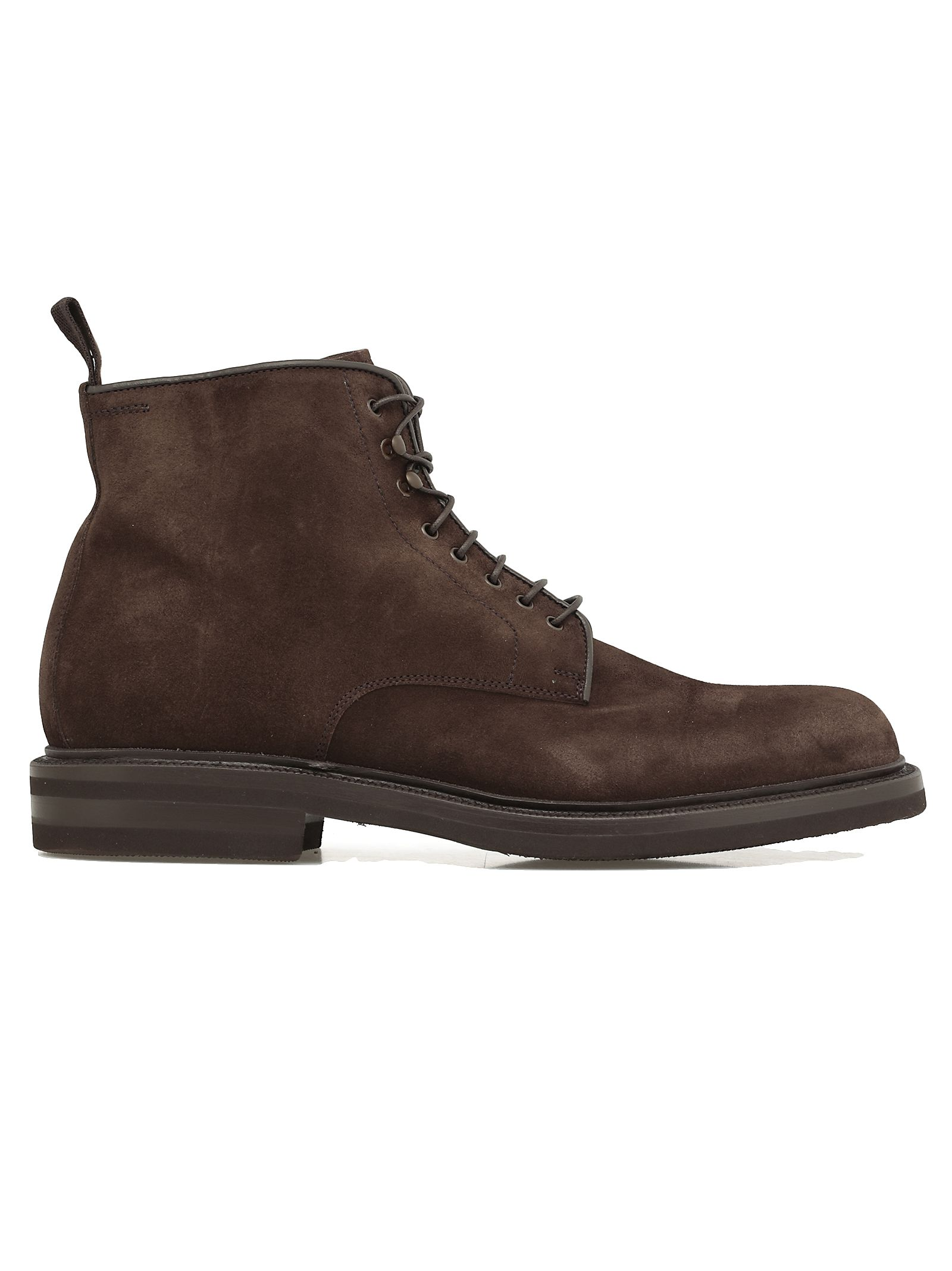 GREEN GEORGE Leather Boot in Brown
