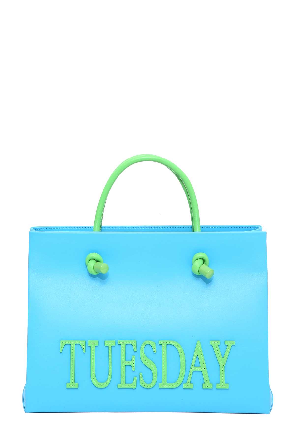 Rainbow Week shopping bag Alberta Ferretti NqHwLOS3