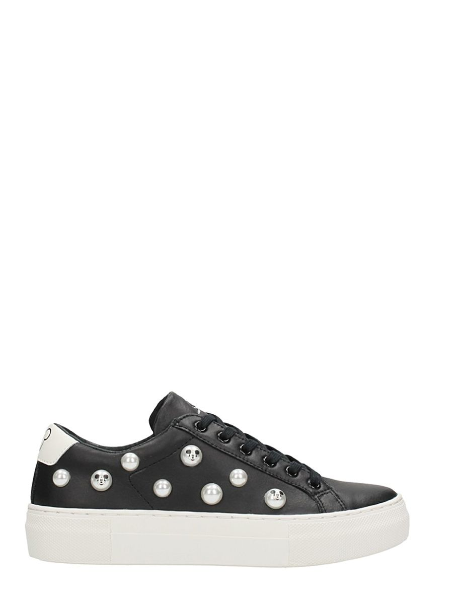 faux pearl-embellished sneakers - Black MOA Master Of Arts vLkpf