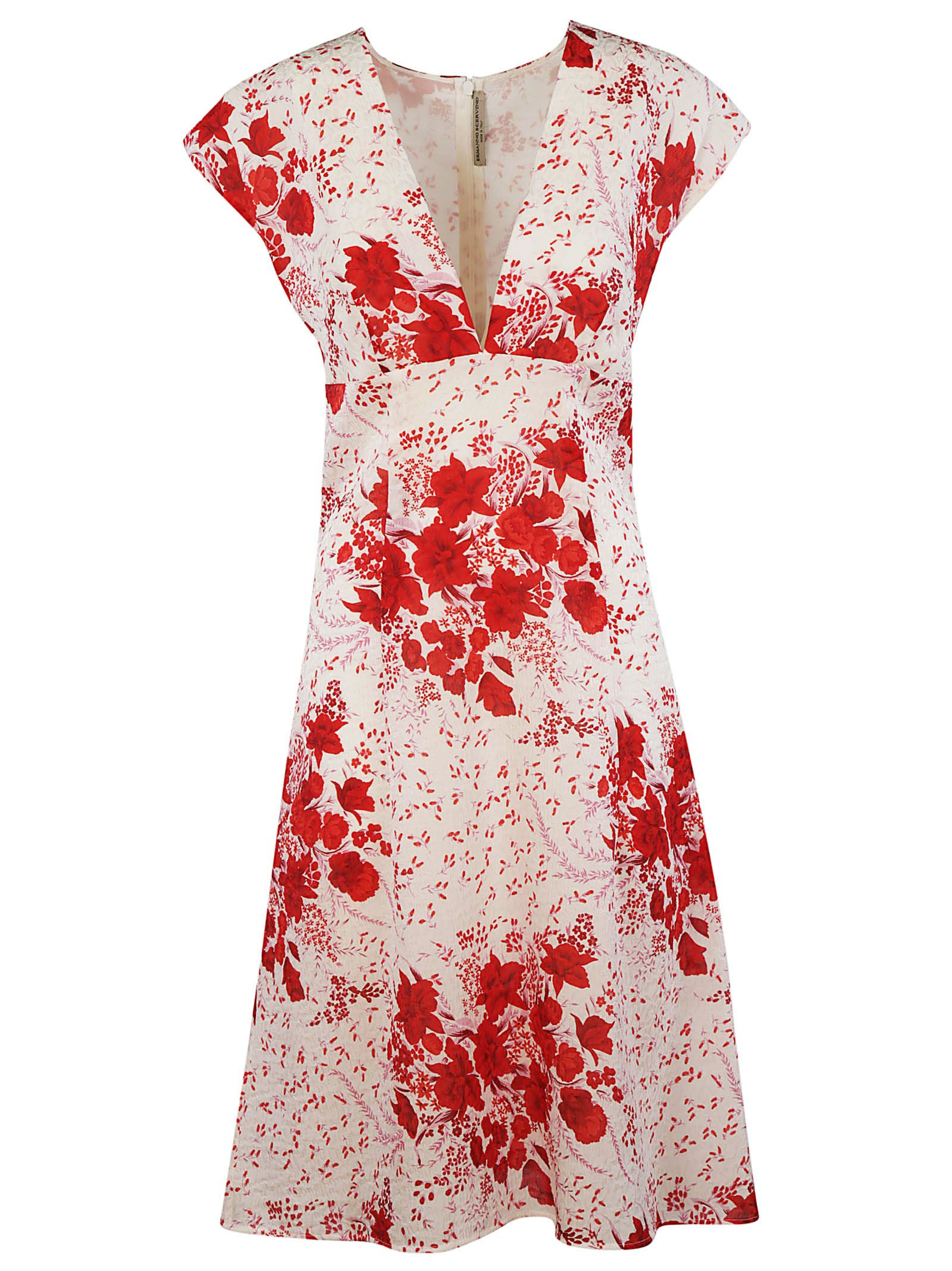 Floral printed dress Ermanno Scervino zChYBhwD0