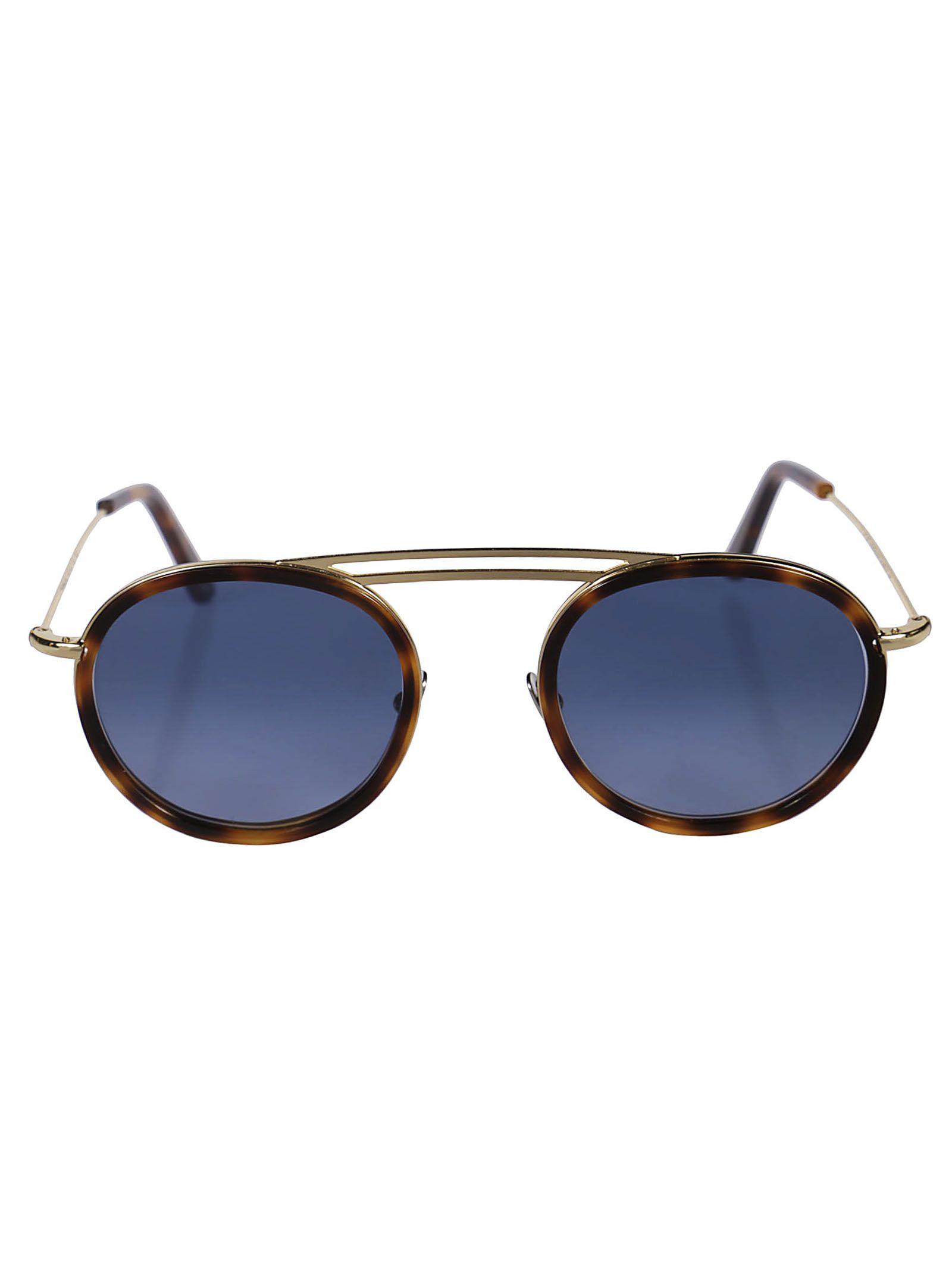 L.G.R Lgr Eufrate Sunglasses in Gold/Havana