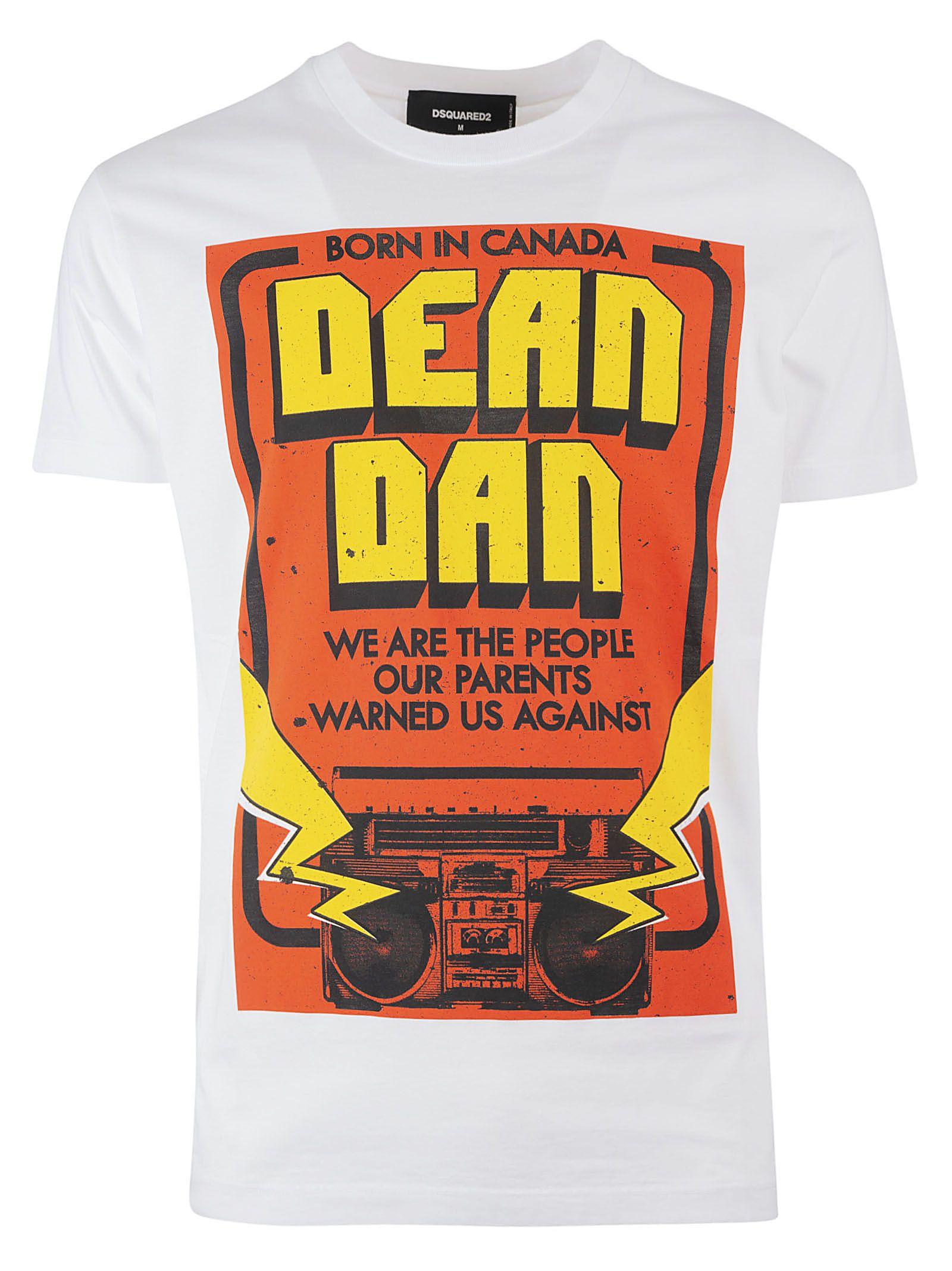 Dsquared2 Graphic Print T-shirt