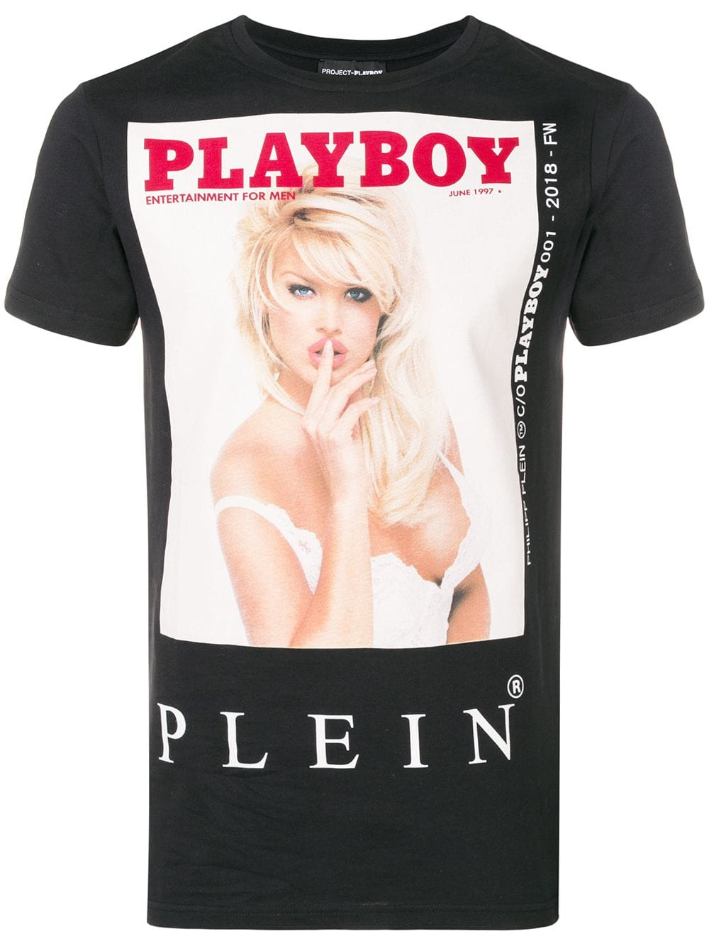 Philipp Plein PLAYBOY PRINTED T-SHIRT