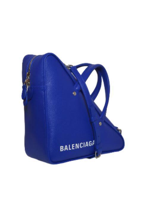 3b1935440f ... Balenciaga Triangle Small Duffle Bag - Bleu Roi ...
