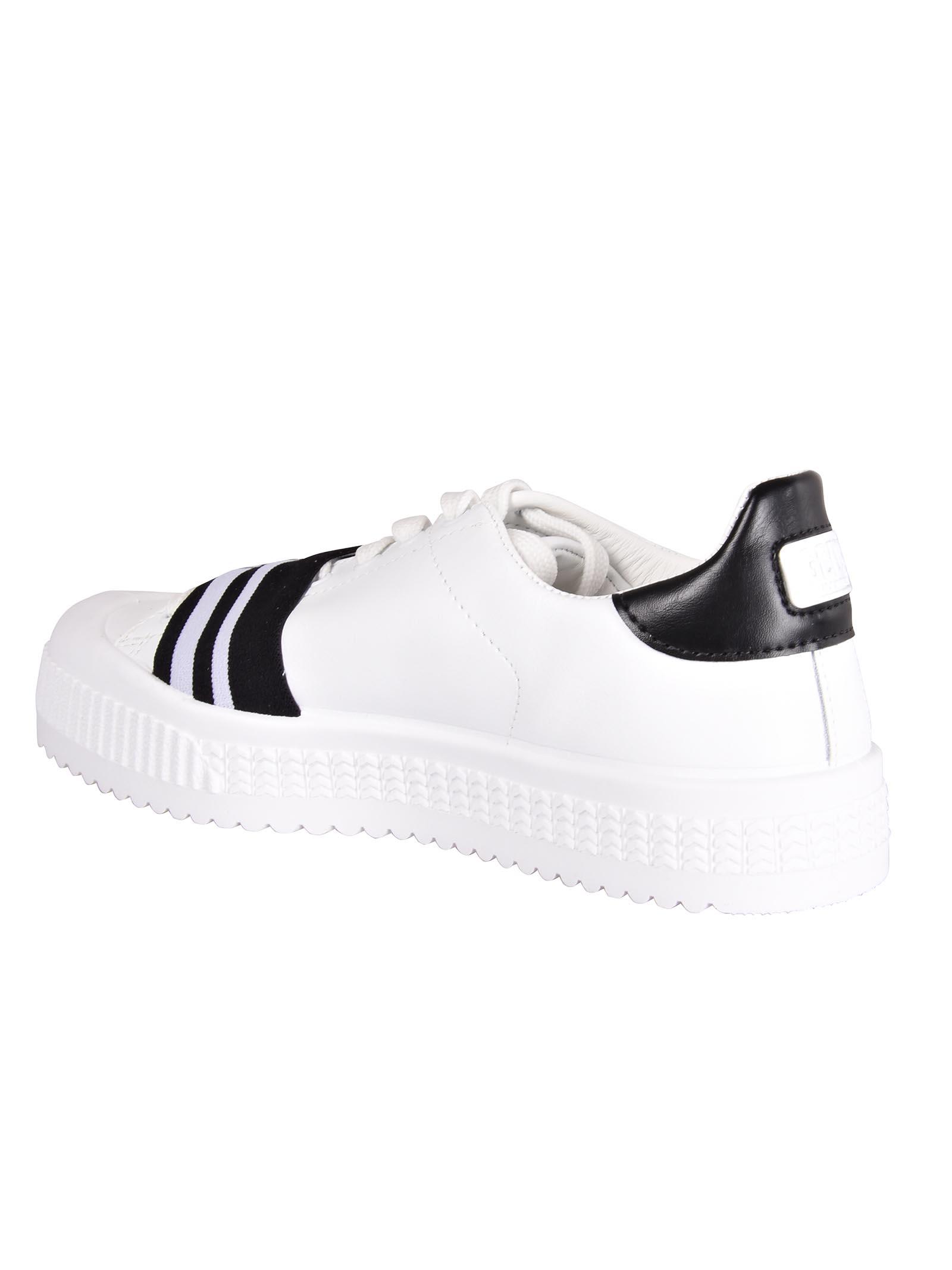 ... GCDS Logo Sneakers - Black c1347a199501b