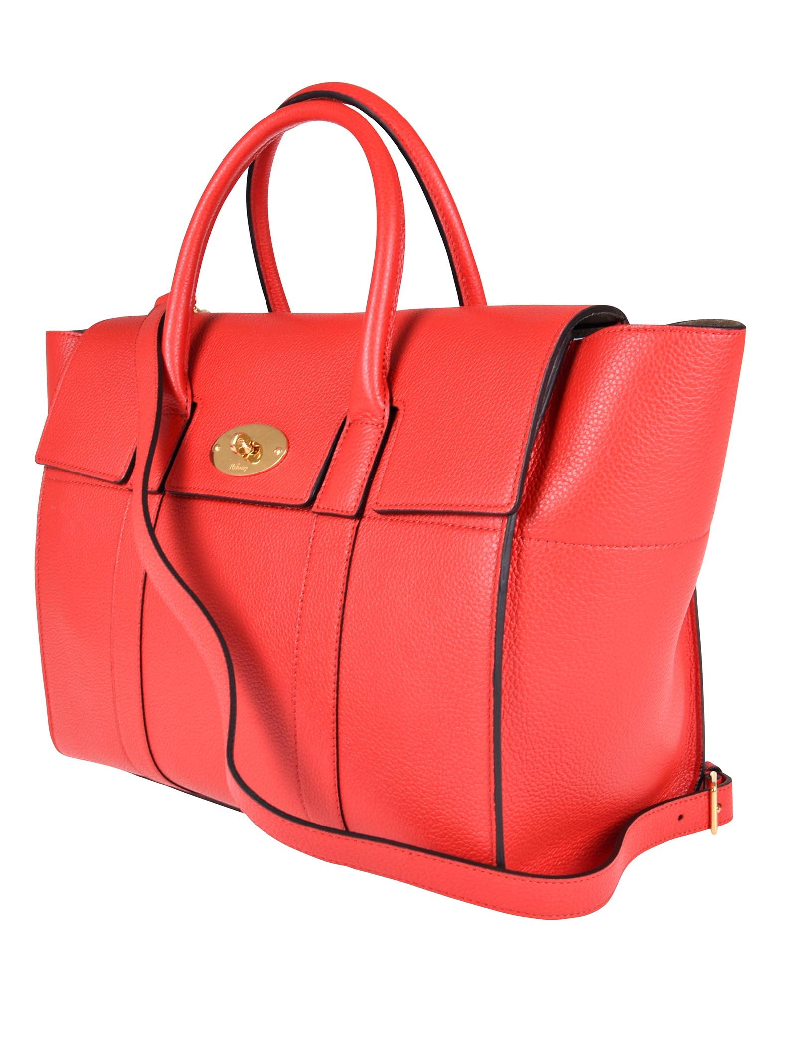 1bd49276c0 ... Mulberry Fold-over Tote - Lruby Red ...