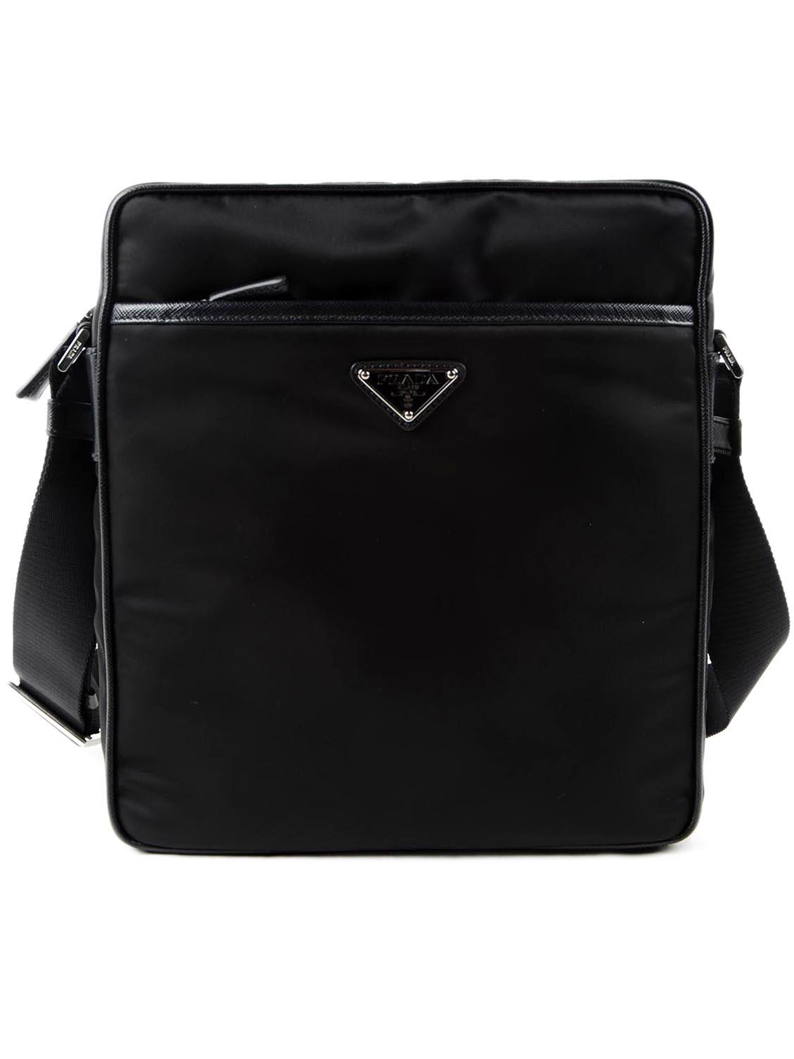 0c0ba527988f italist | Best price in the market for Prada Prada Saffiano Shoulder ...