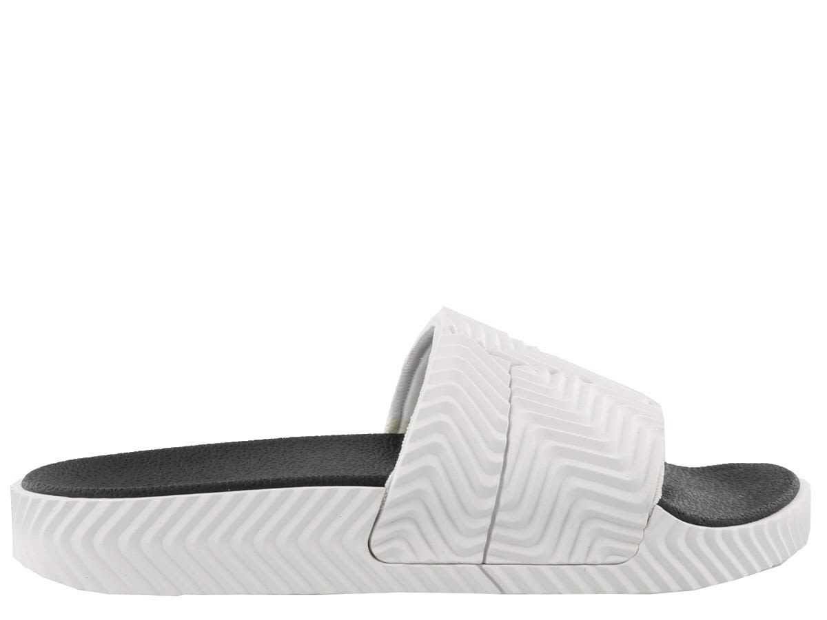 4c207f32cb77 Adidas Originals by Alexander Wang Adilette Slider - White  black ...