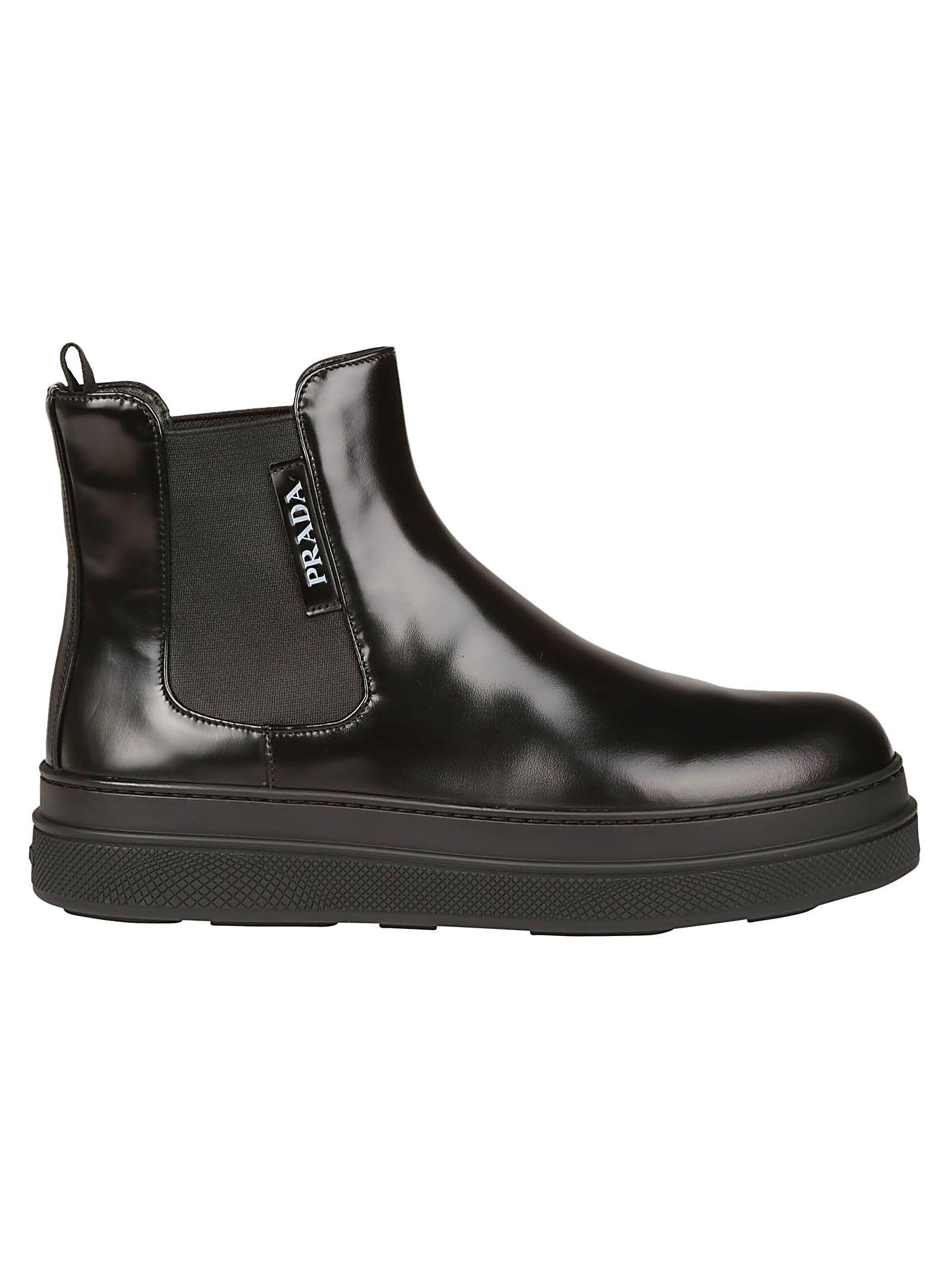 italist | Best price in the market for Prada Prada Boots - Nero - 10666947 | italist